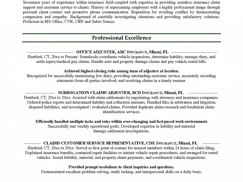 Sales Agent Resume - Insurance Agent Resume Unique Insurance Agent Resume Inspirational