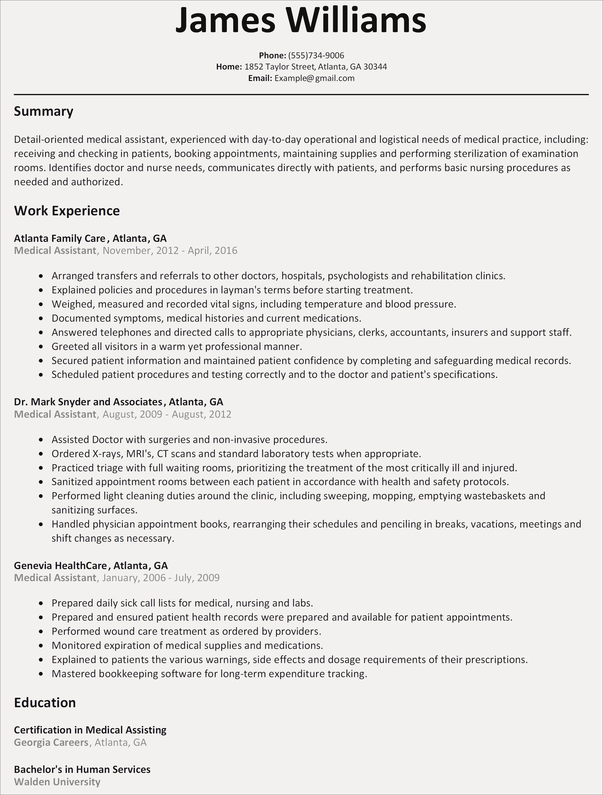 Sales Professional Resume Template - New Resume Templates for Customer Service