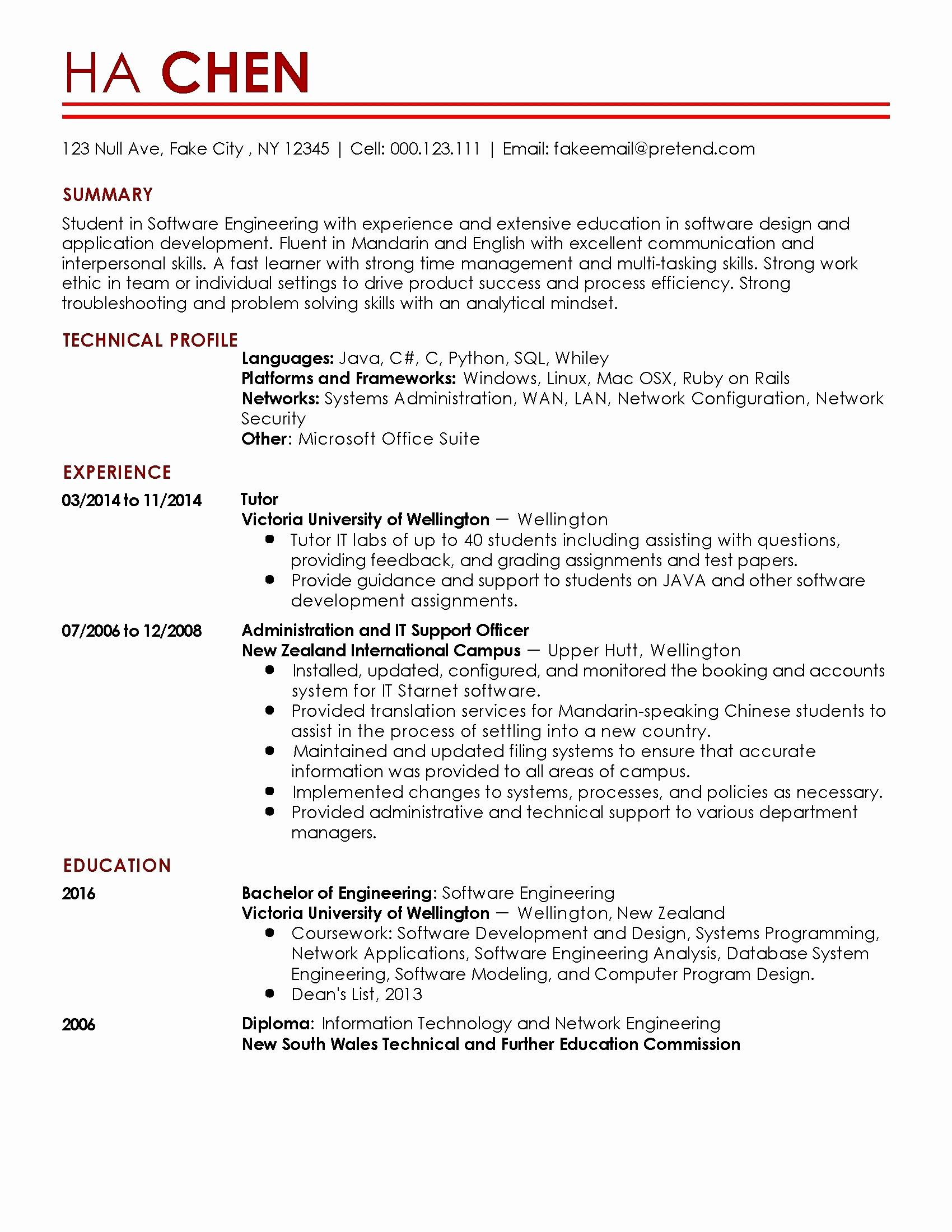 Sample Administrative Resume - Administrative Resume Sample Best Admin Executive Resume format