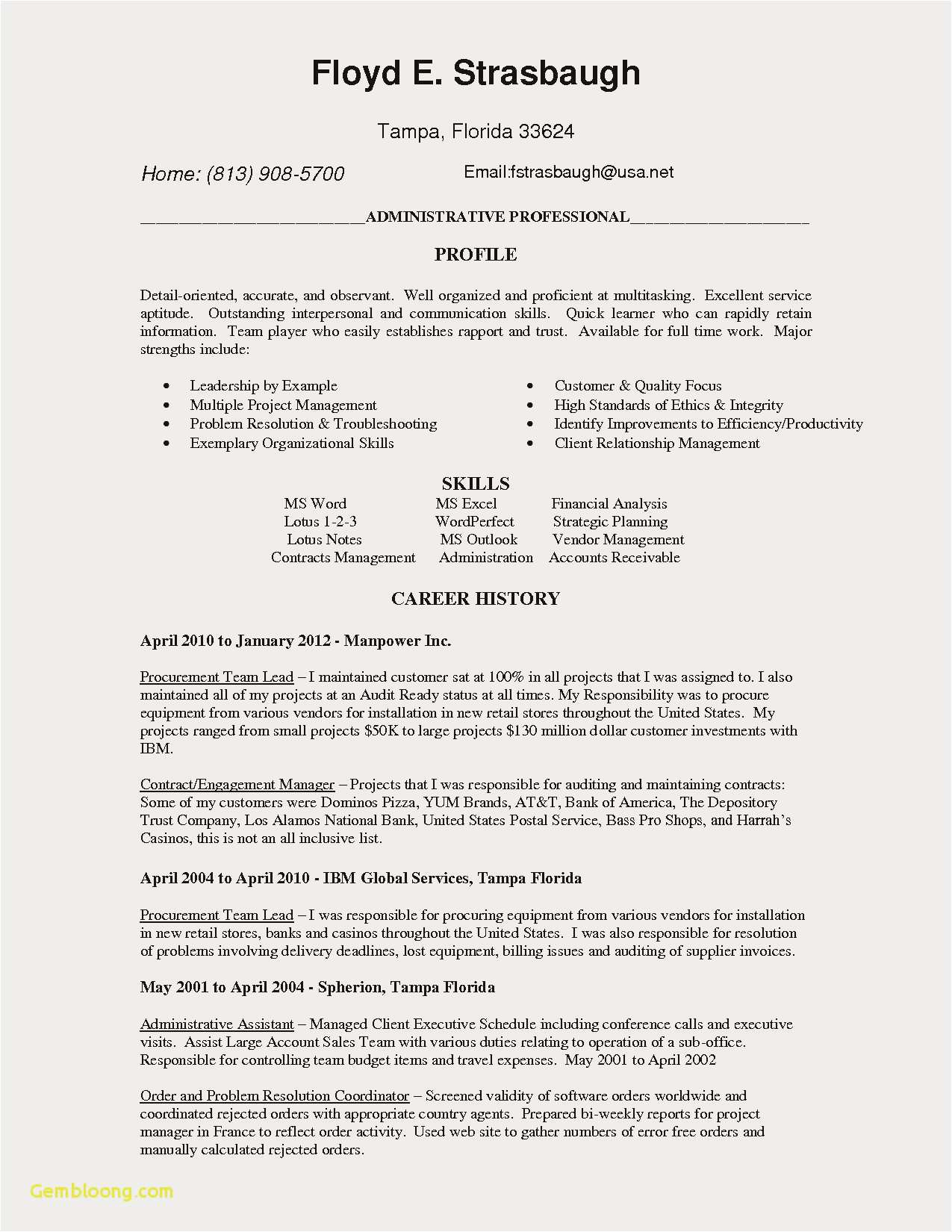 Sample Np Resume - 22 Best Np Resume Free