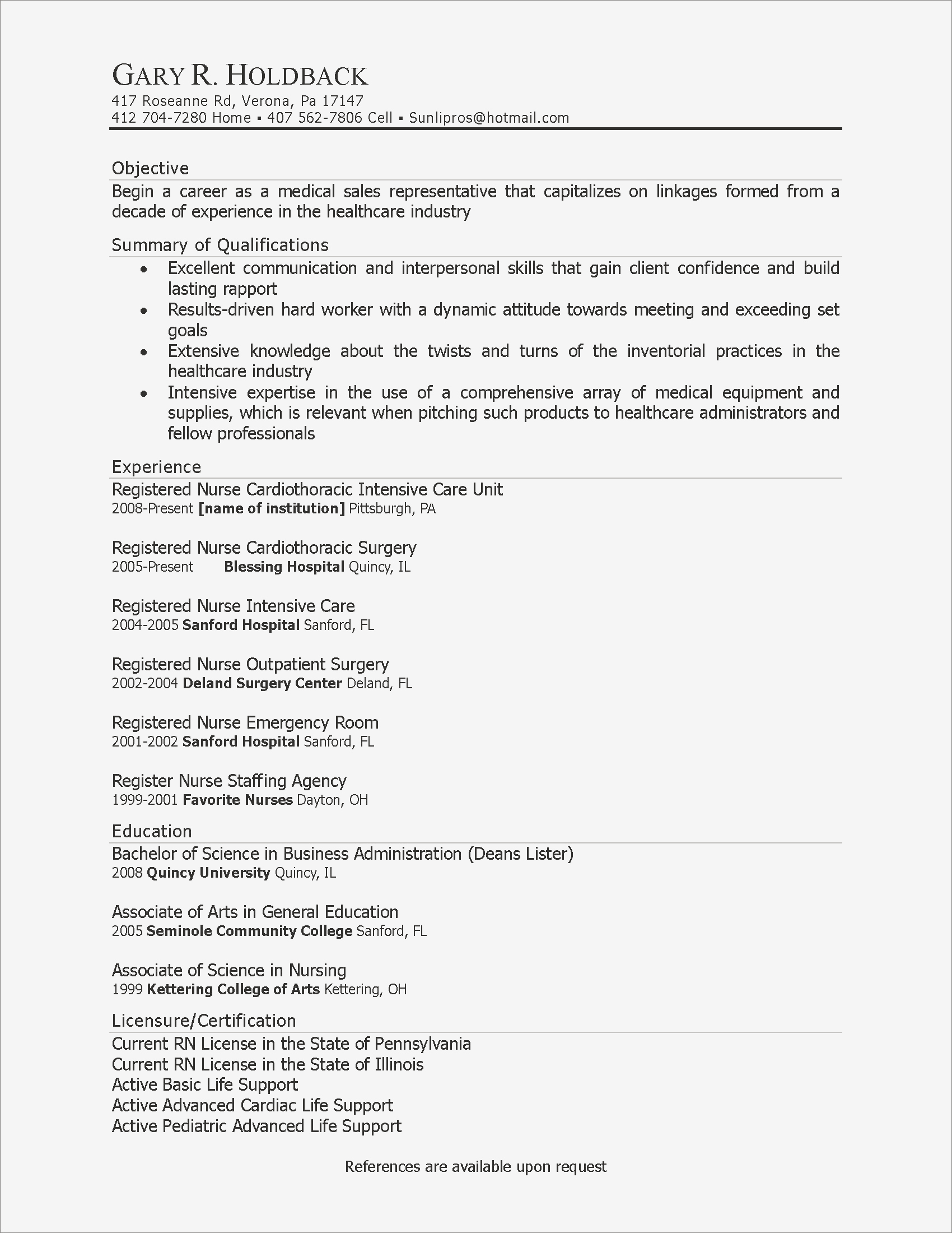 Sample Resumes for College Students - Sample Resume Objectives for College Students