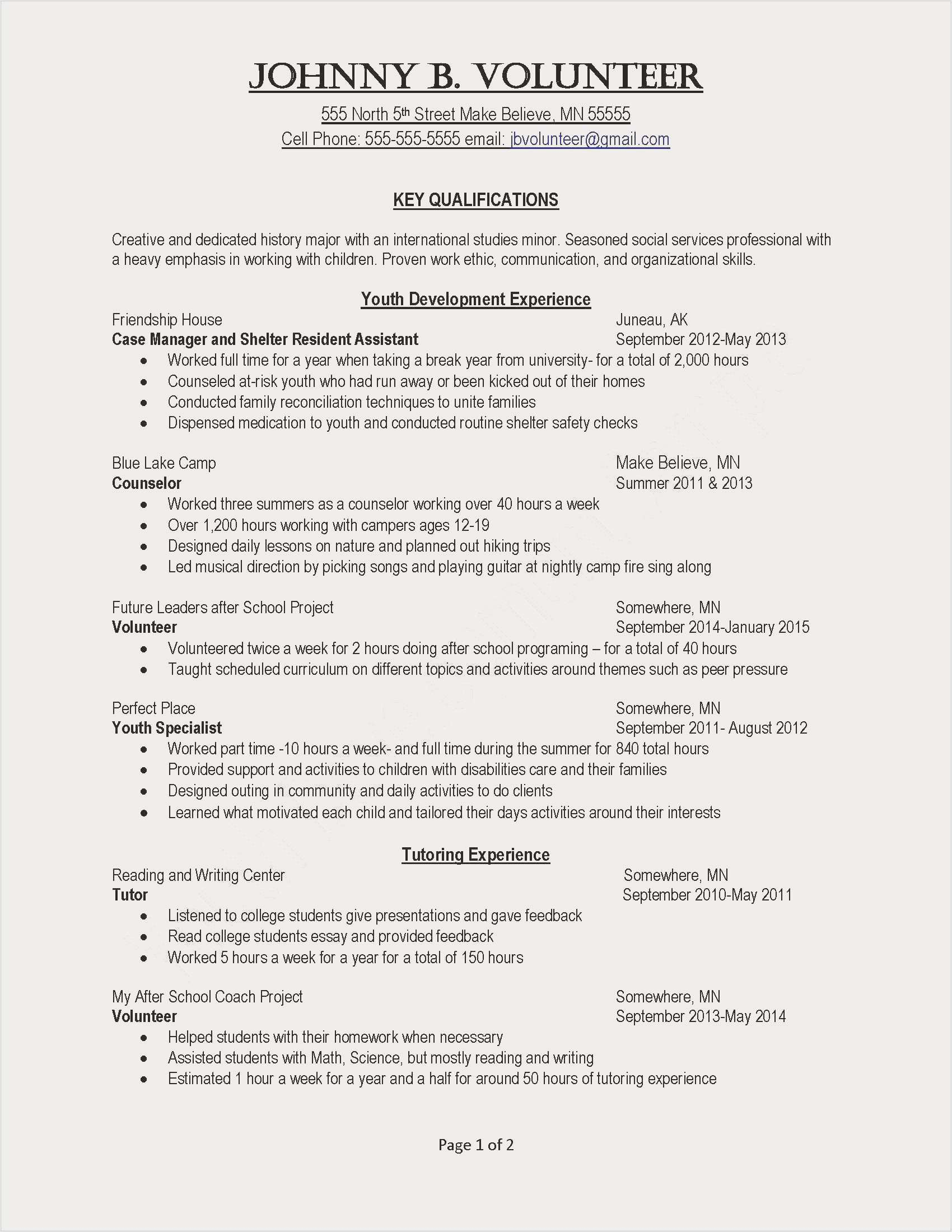 Sample Resumes for College Students - Resumes for College Students Simple Unique Internship Resume Sample