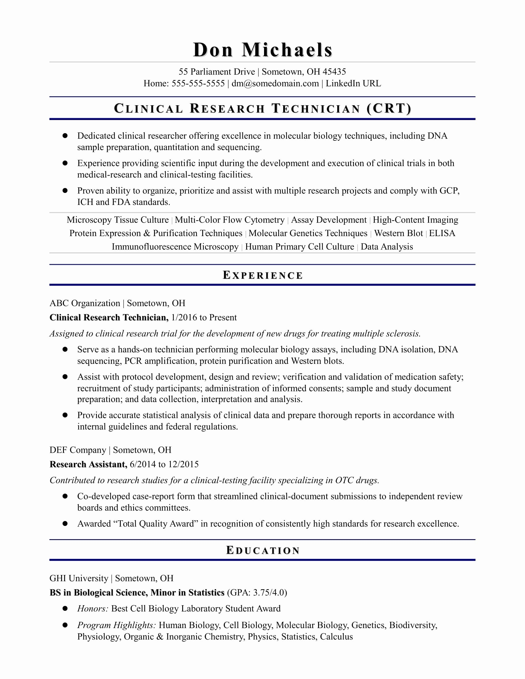 Scientist Resume - Lab Wallpapers Beautiful Objective Resume Examples Fresh Nursing