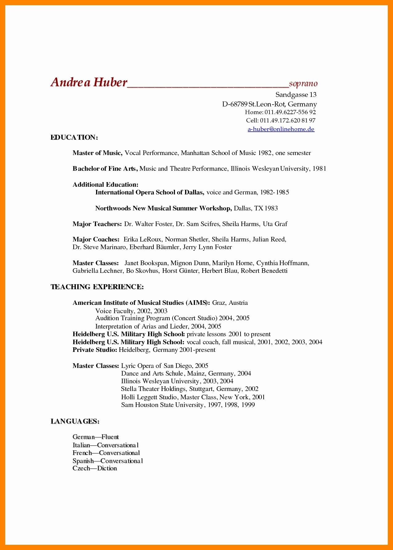 Scrum Master Resume Example - 18 Scrum Master Resume Example