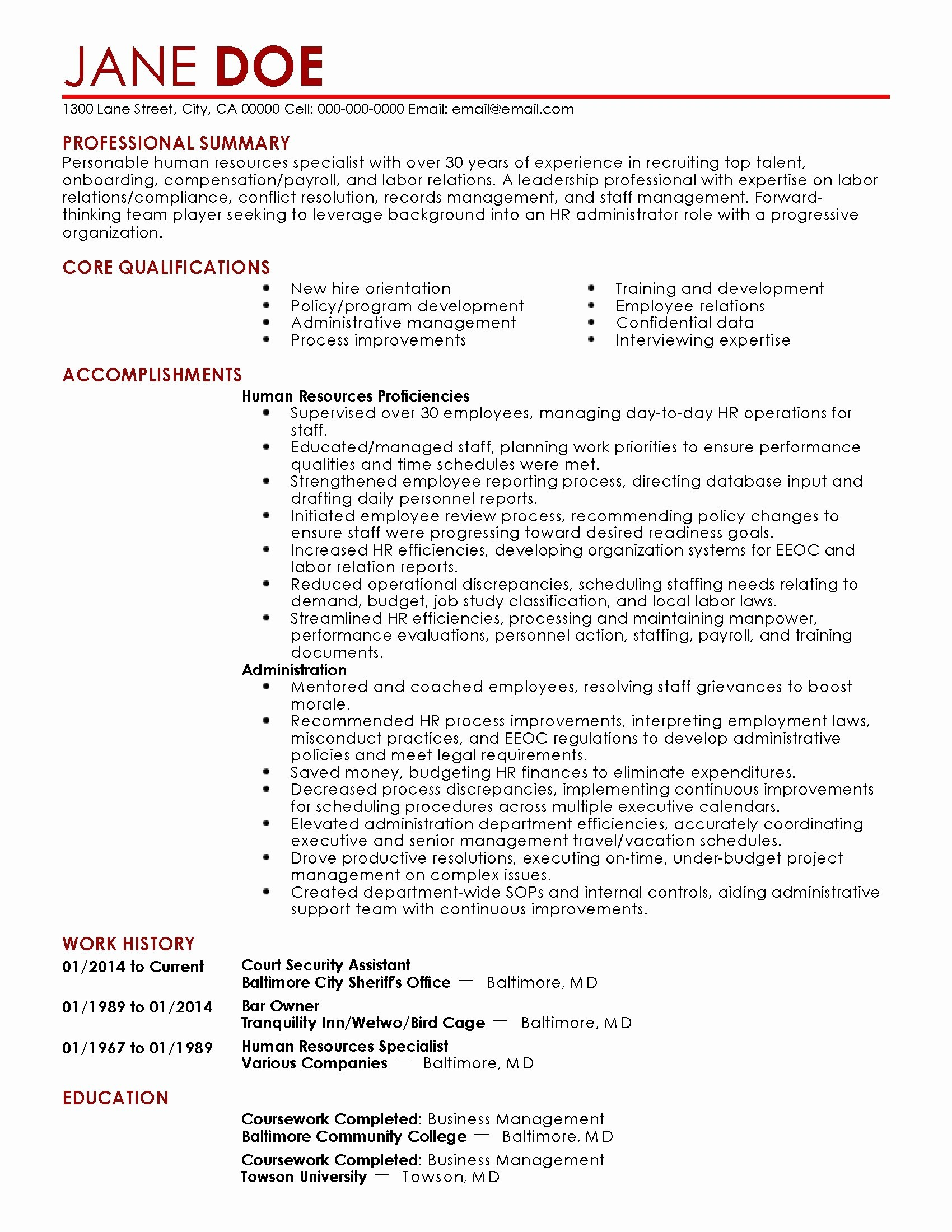 Secretary Resume Template - 19 Unique Medical assistant Resume Template