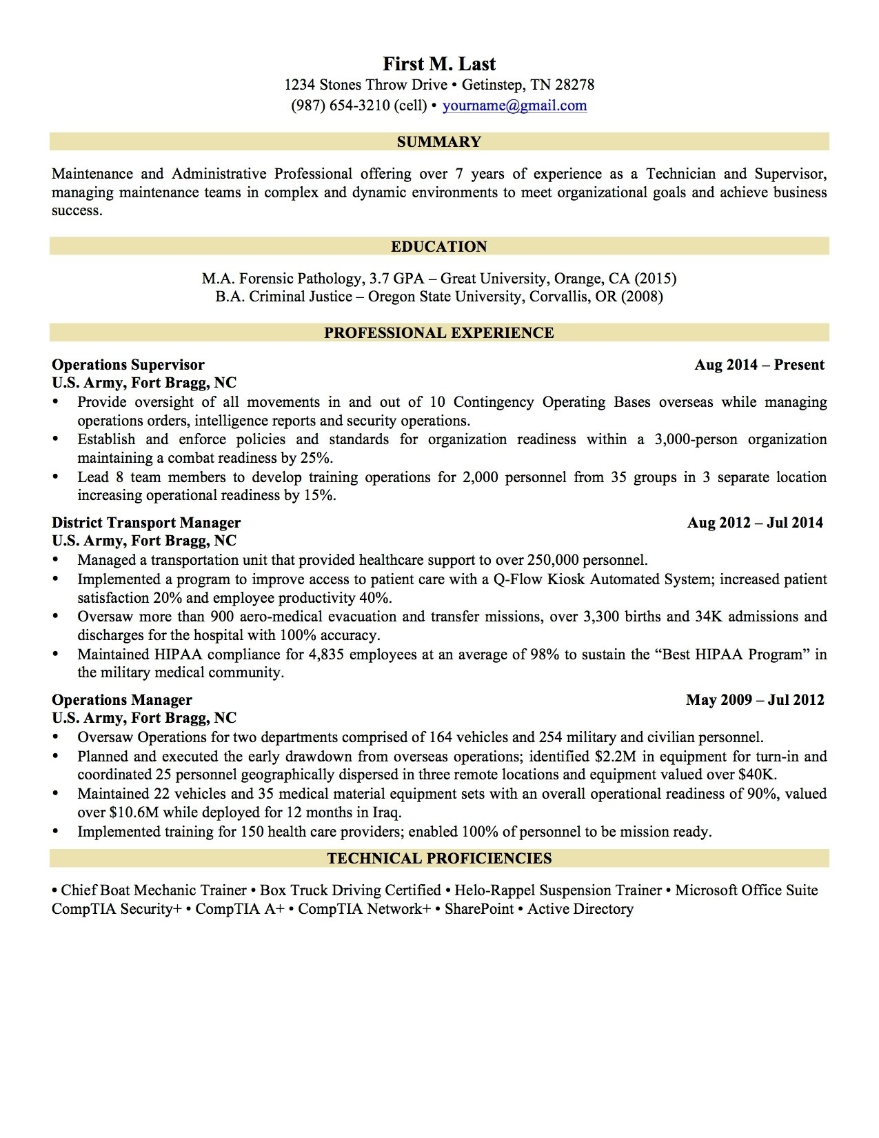 Security Resume Examples - Resume Examples Professional Experience Inspirational Fresh Grapher