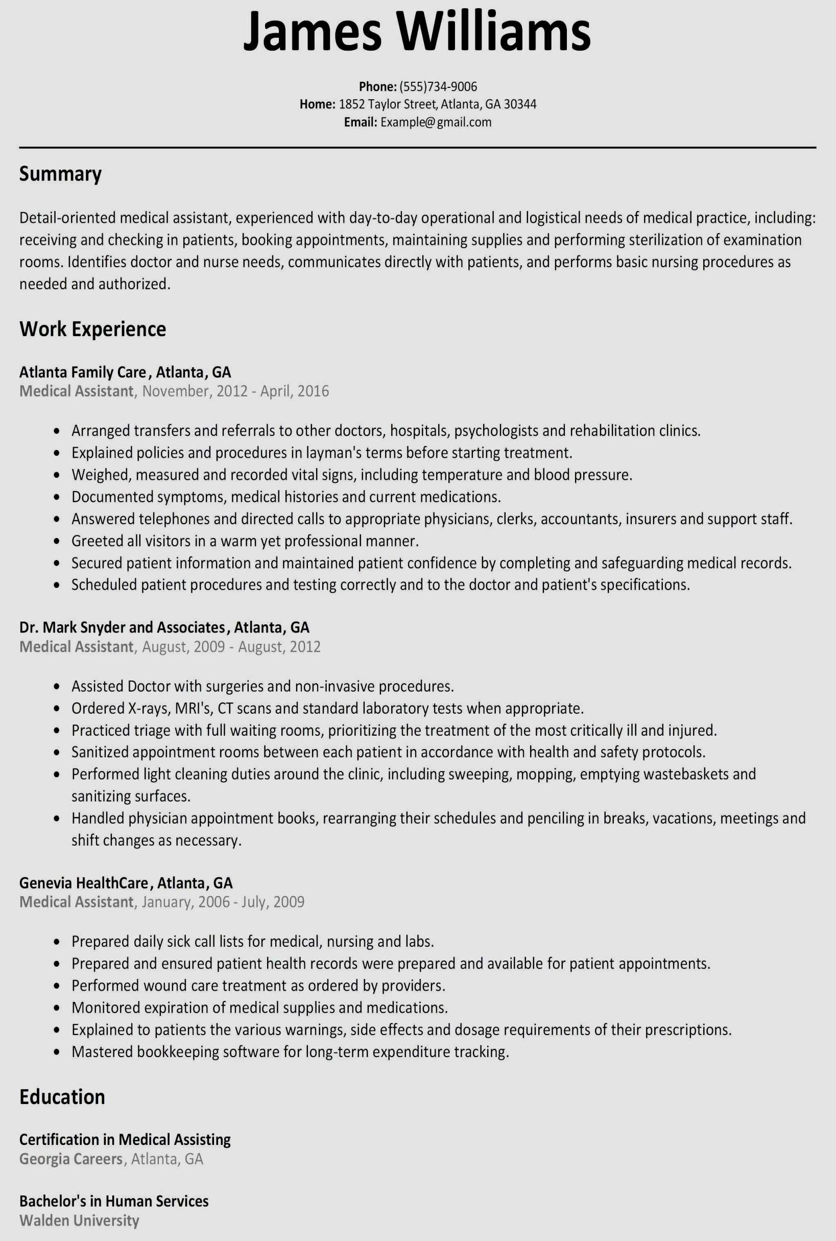 8 service industry resume template ideas
