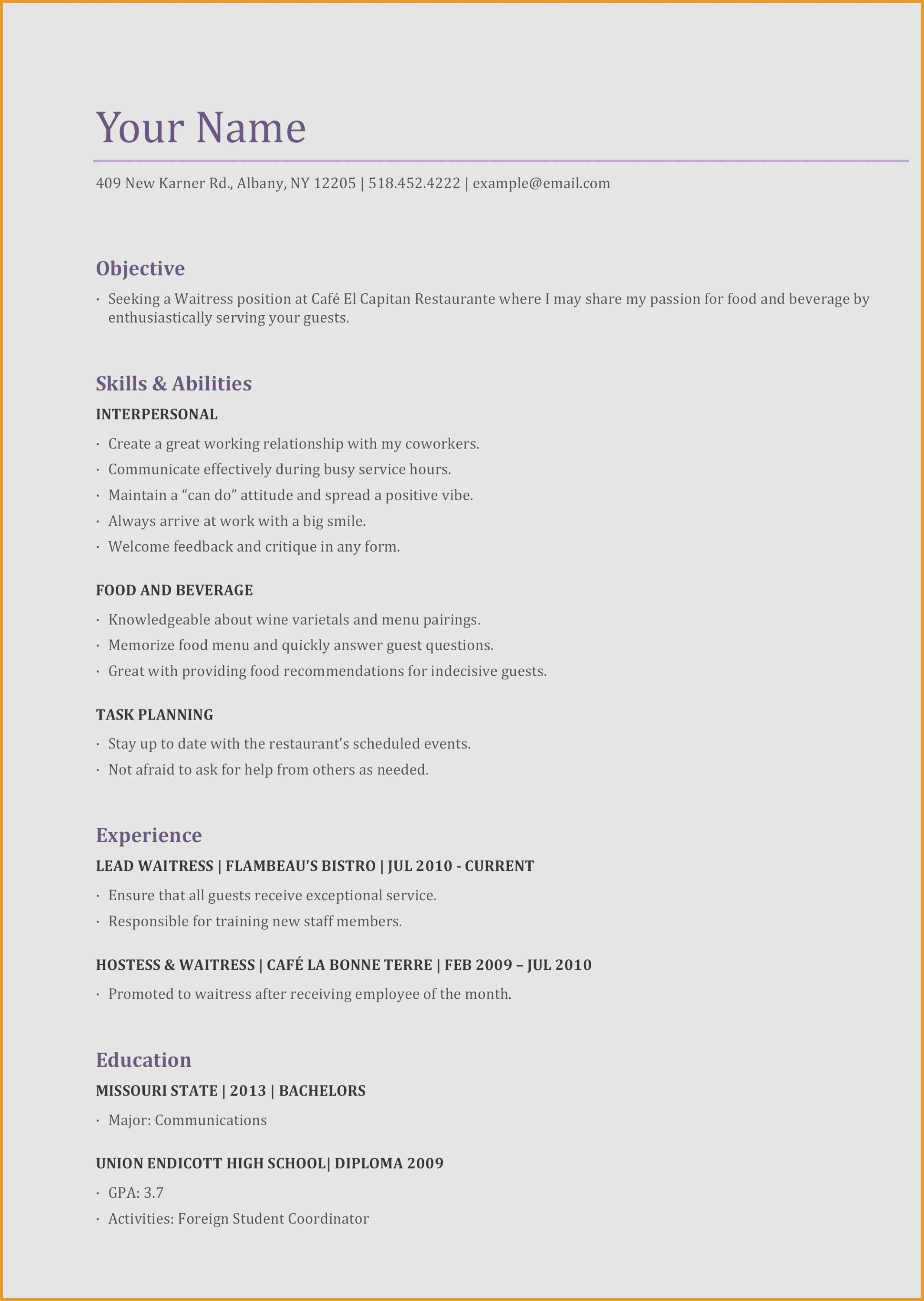 Small Business Owner Resume - Small Business Owner Resume Unique 19 Resume Website Template