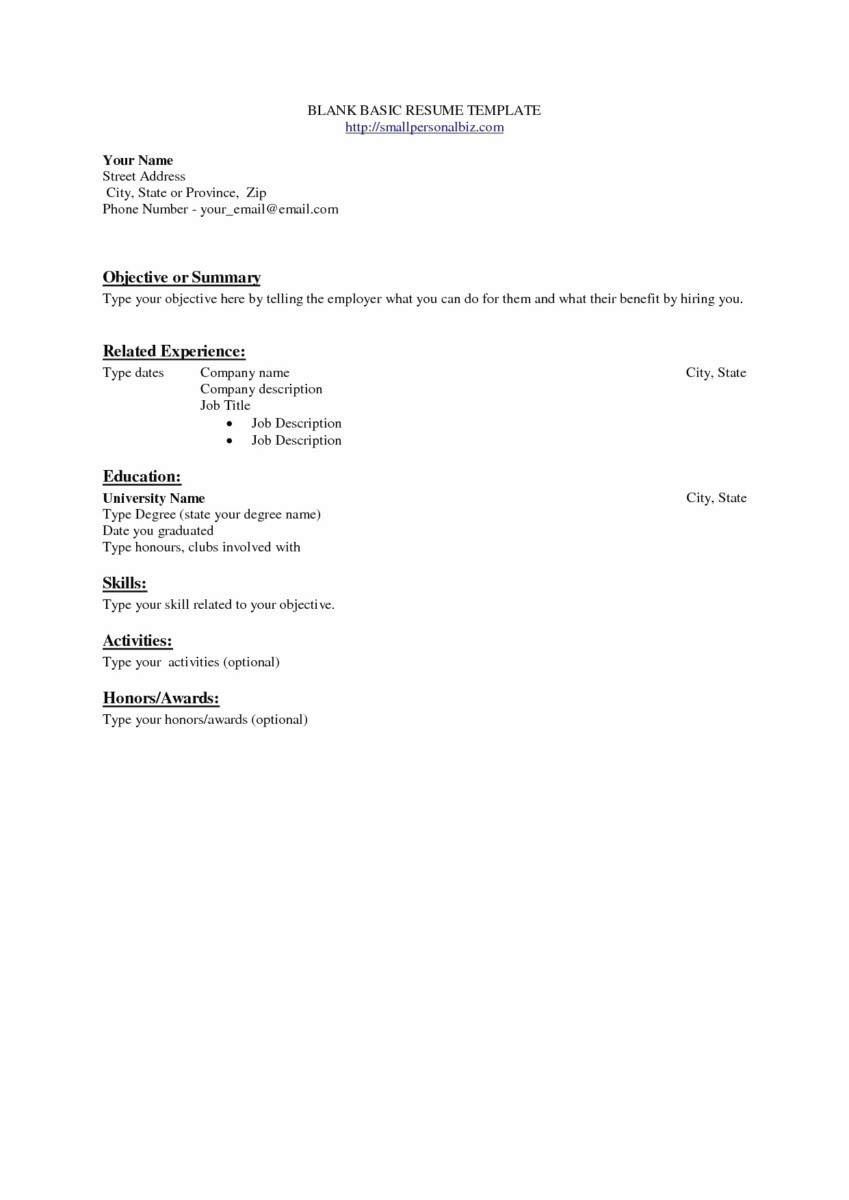 Sorority Resume Template Download - 48 Best Resume Templates for Free