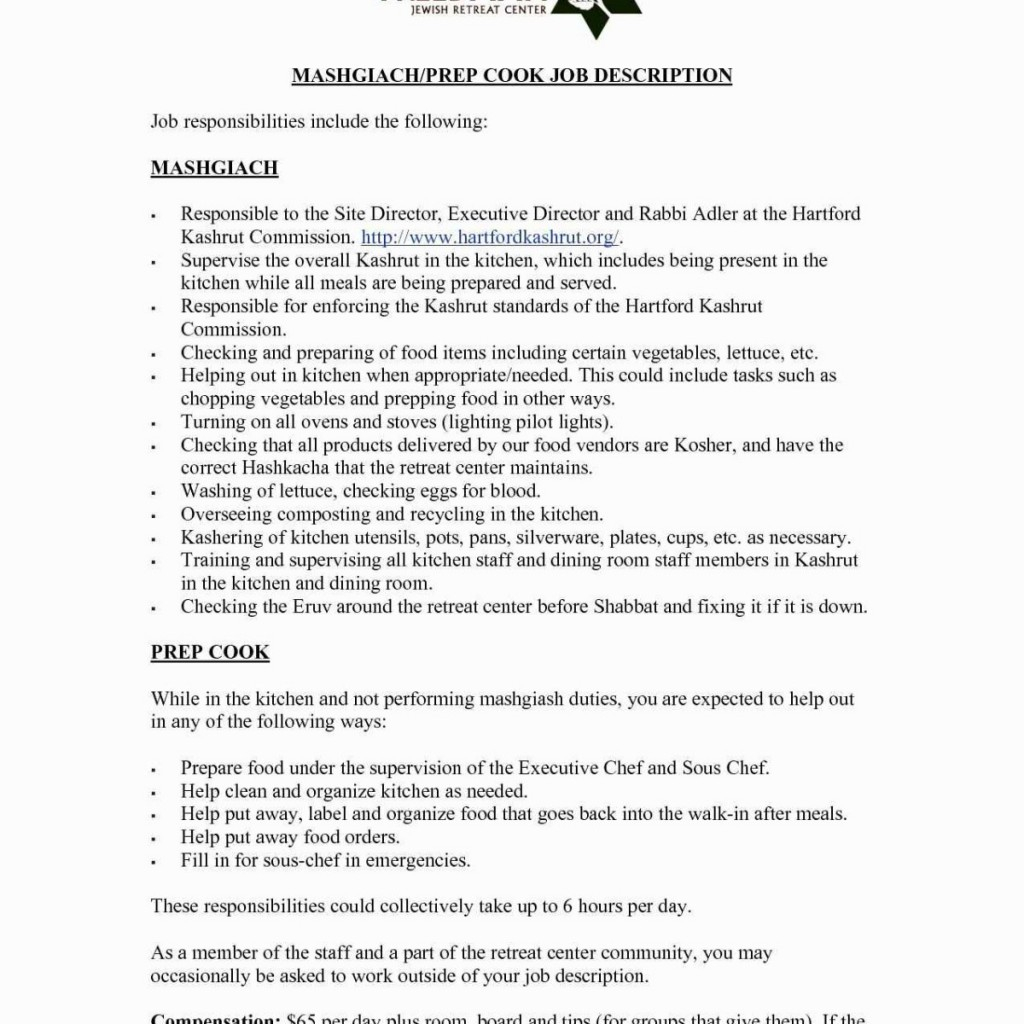 sous chef resume skills example-Best Cover Letter Chef 11-l