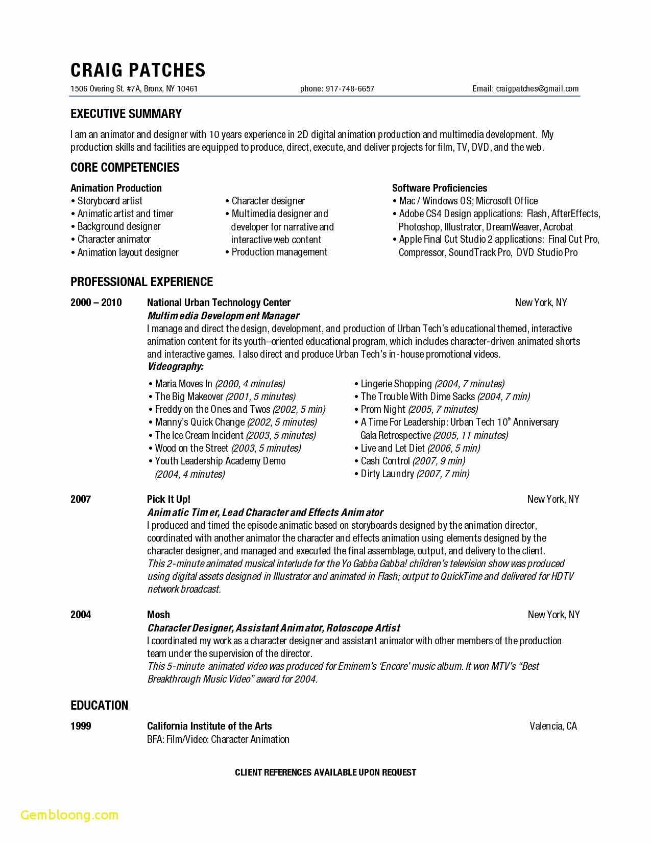 Stage Manager Resume Template - Stage Manager Resume Unique Inspirational Personal Skills In Resume