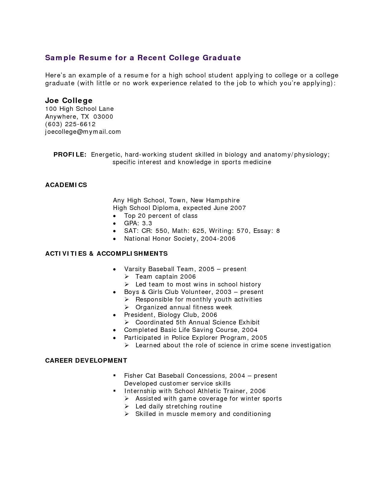 student athlete resume example example-Student athlete Resume 16 Student athlete Resume 1-r
