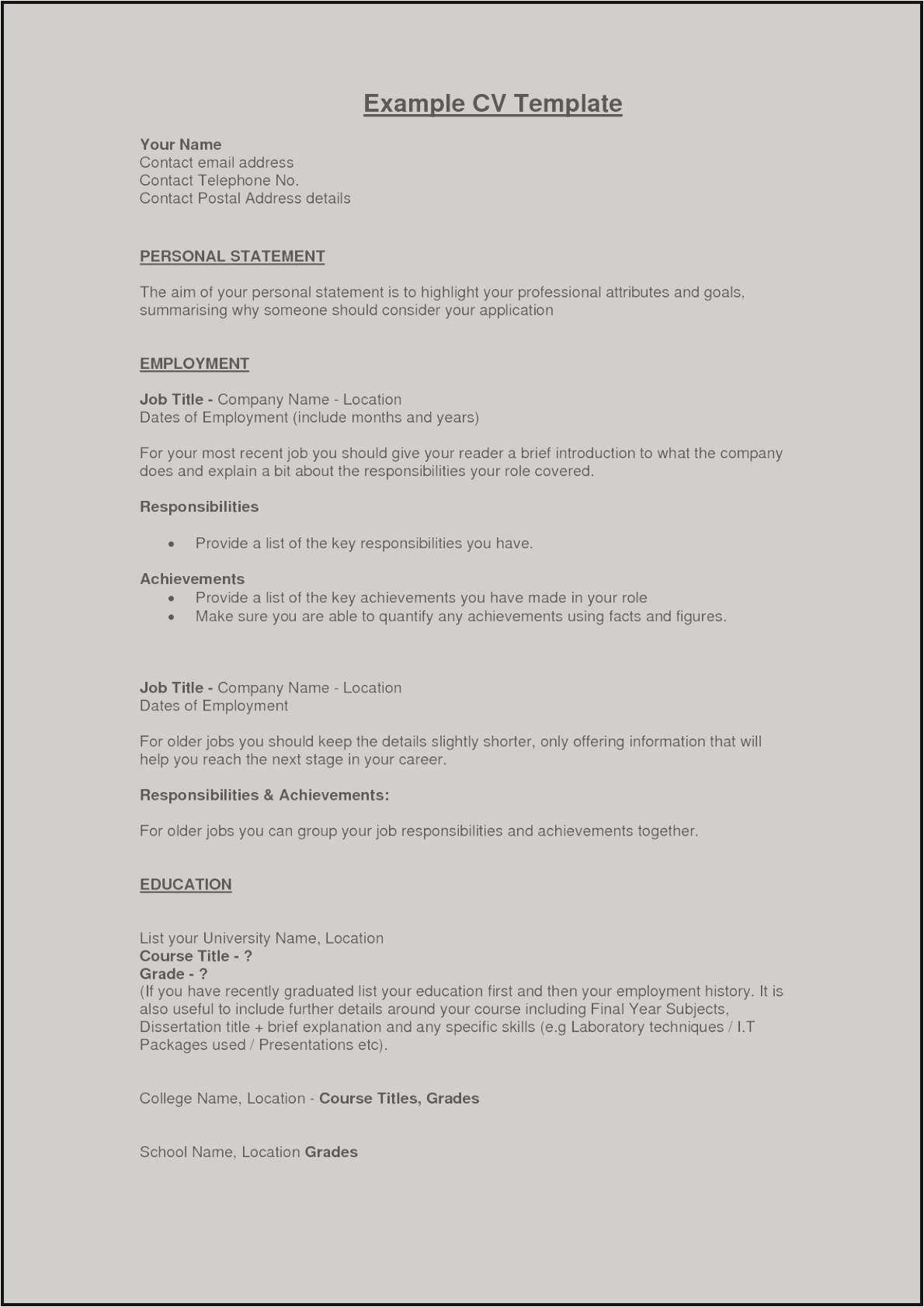 Summary On A Resume - Business Summary Model Example Perfect Resume Fresh Examples Resumes