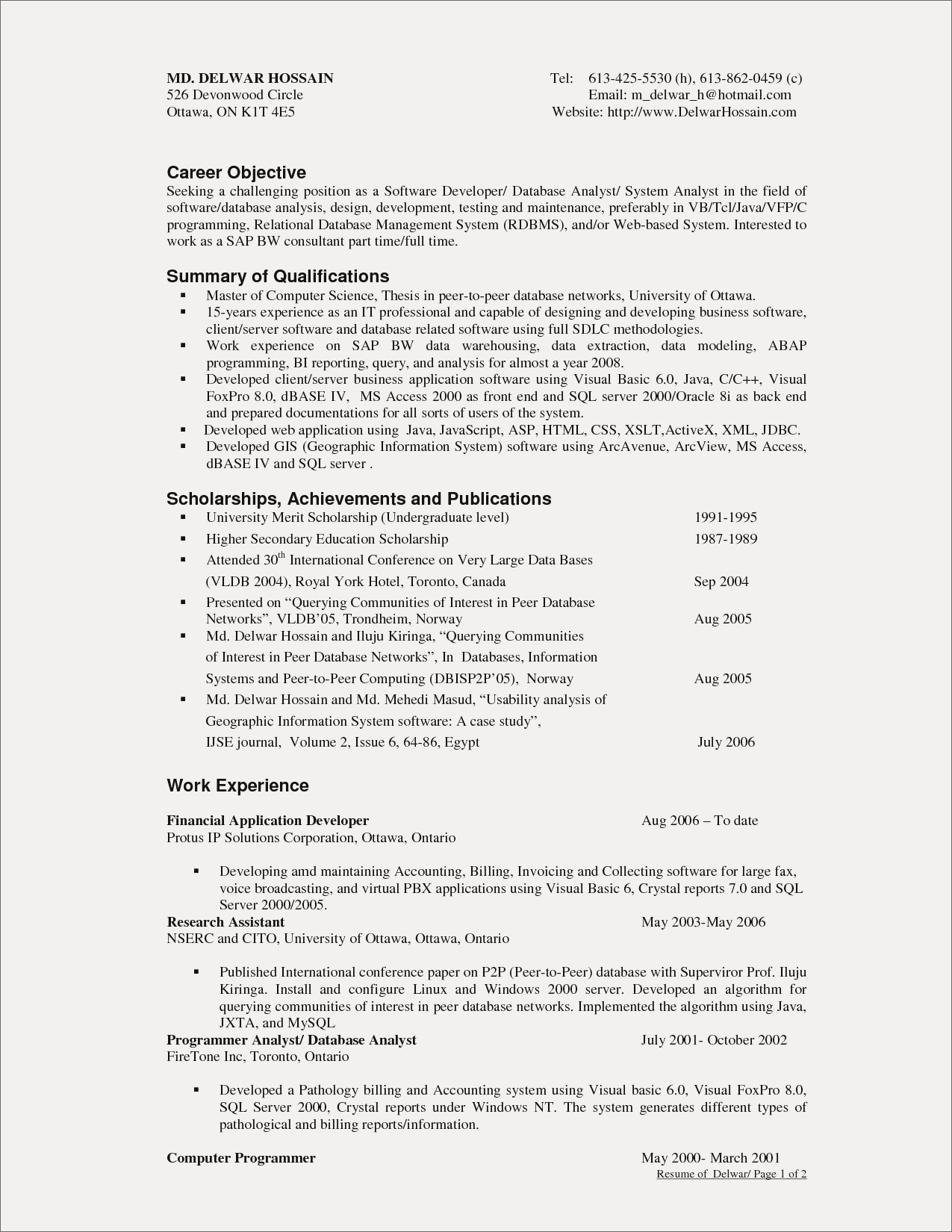 System Analyst Resume - Invoice Management System Profile Resume Examples Unique Cto Resume