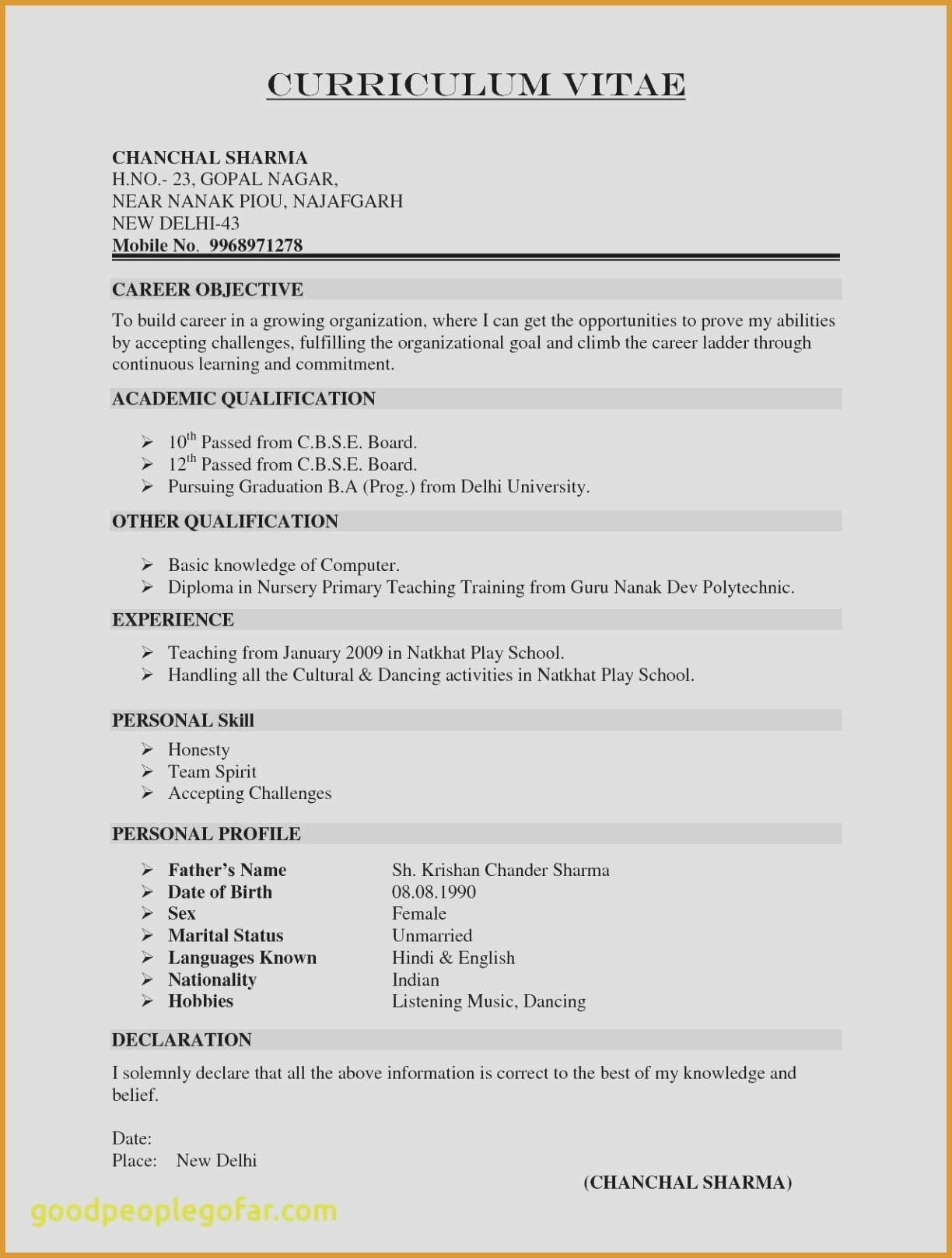 Tableau Fresher Resume - Tableau Developer Resume