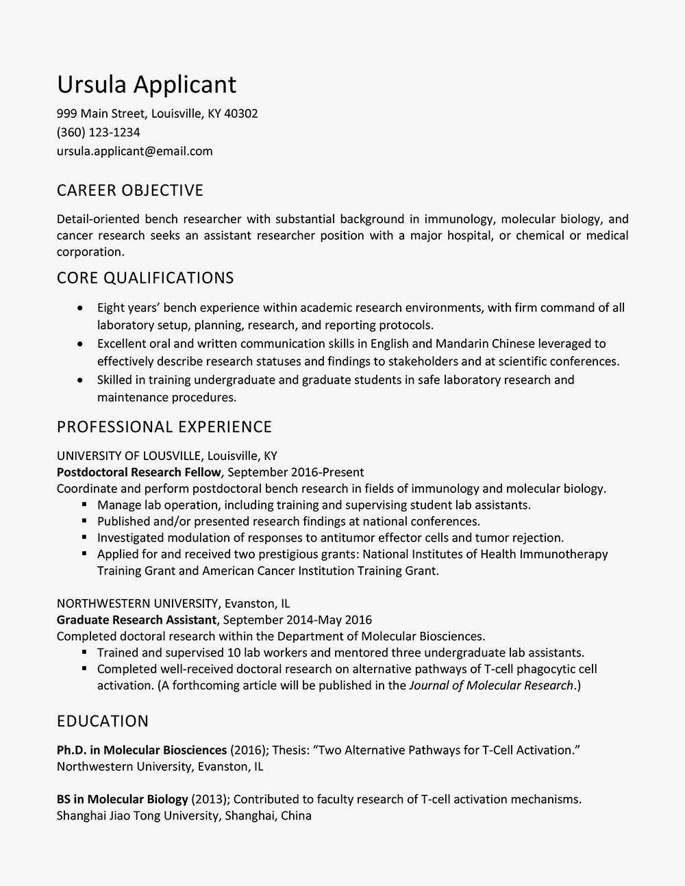 Tableau Fresher Resume - Research assistant Resume Job Description and Skills