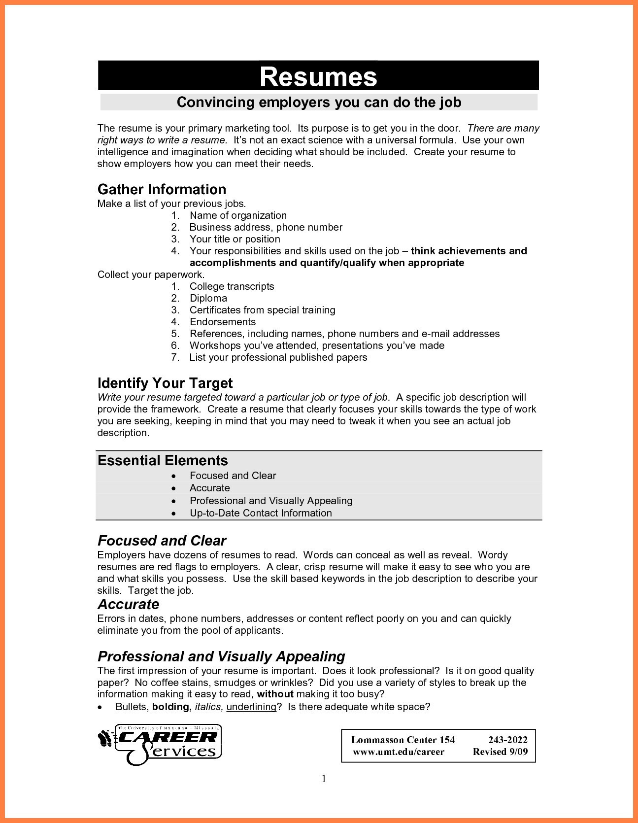 Targeted Resume Template Word - How to Make A Resume In Microsoft Word Perfect How to Make A Resume