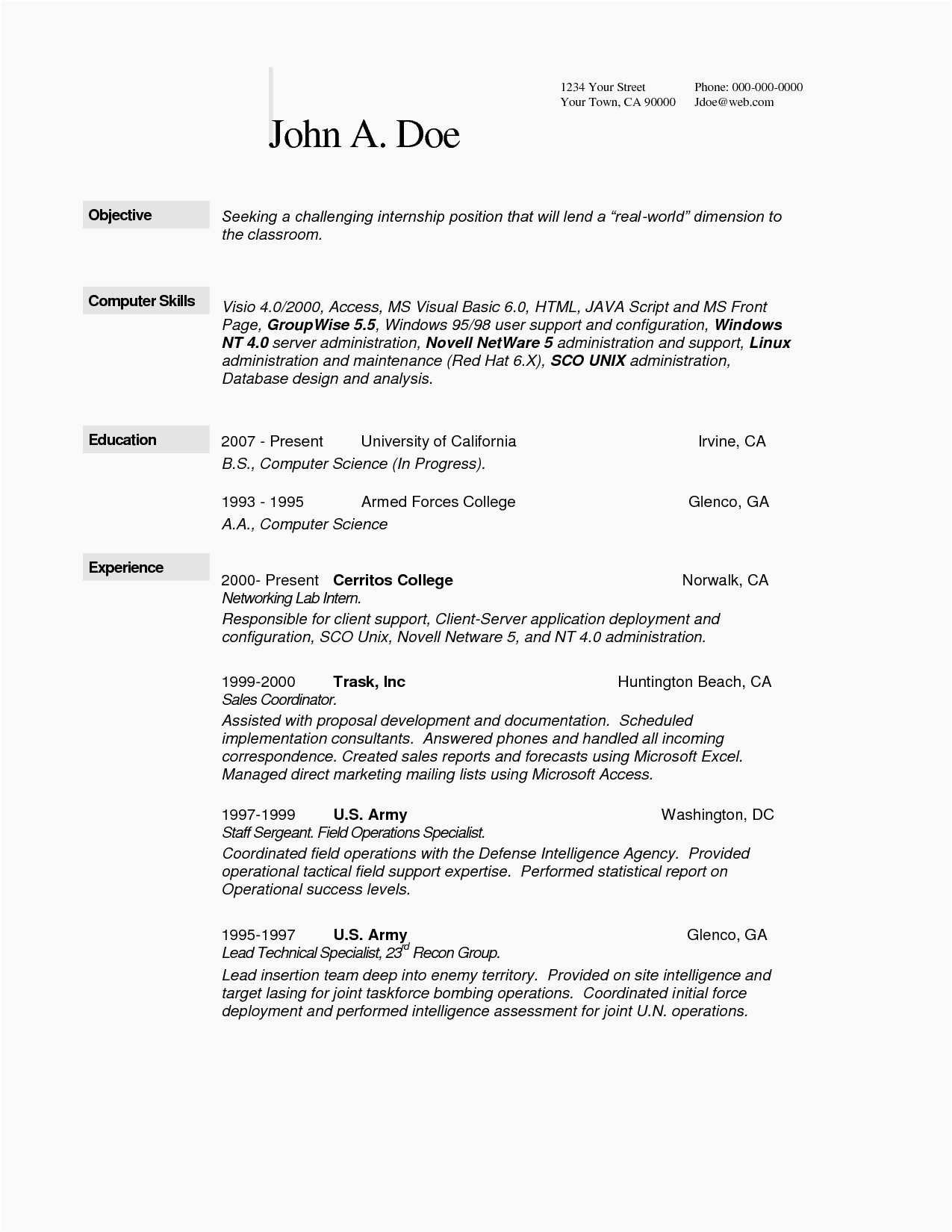 Targeted Resume Template Word - Resume Site Example Resume formats In Word New Keywords for Resumes