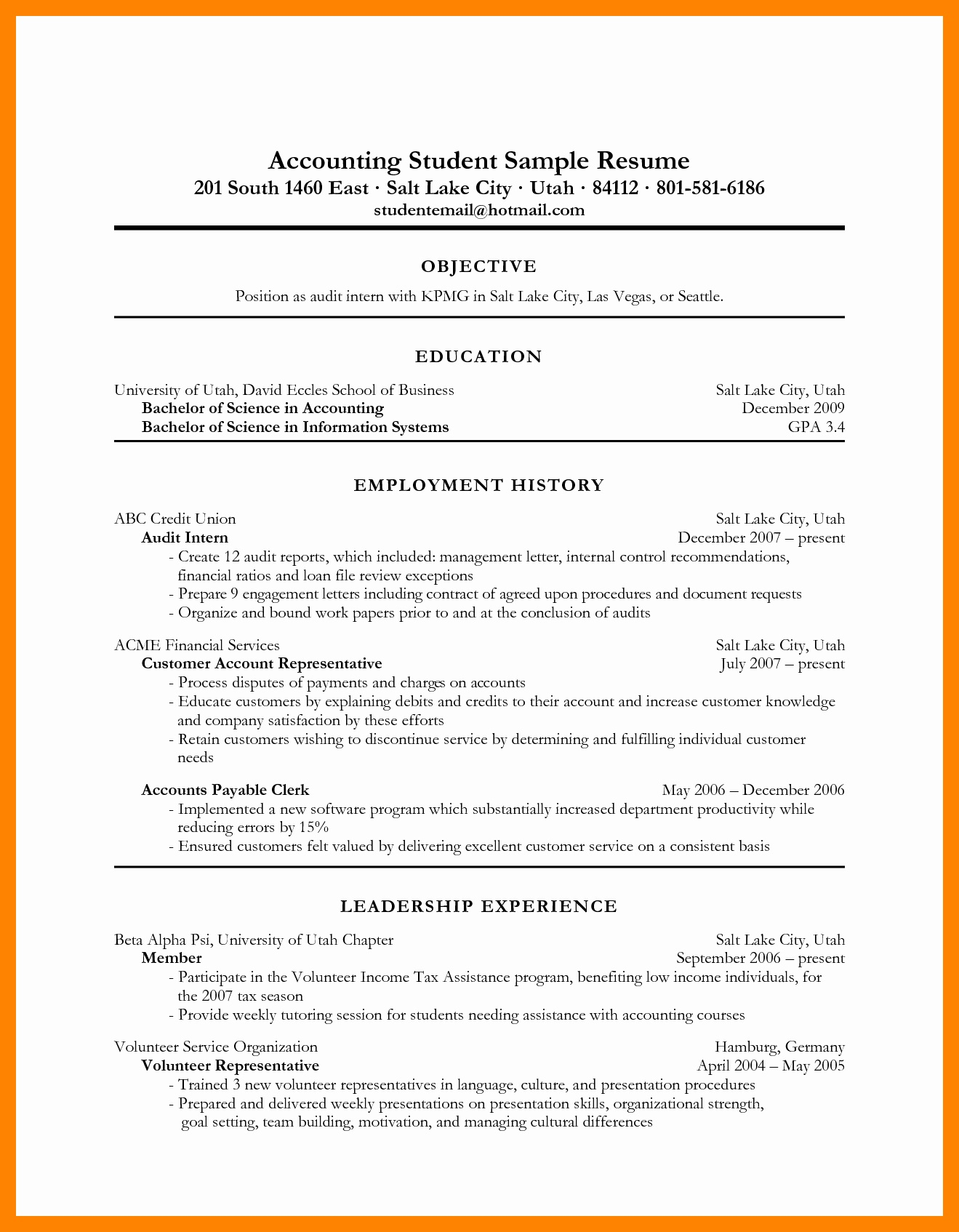 Tax Preparer Resume Samples - Tax Preparer Resume Example Inspirational Sample Resume for Tax