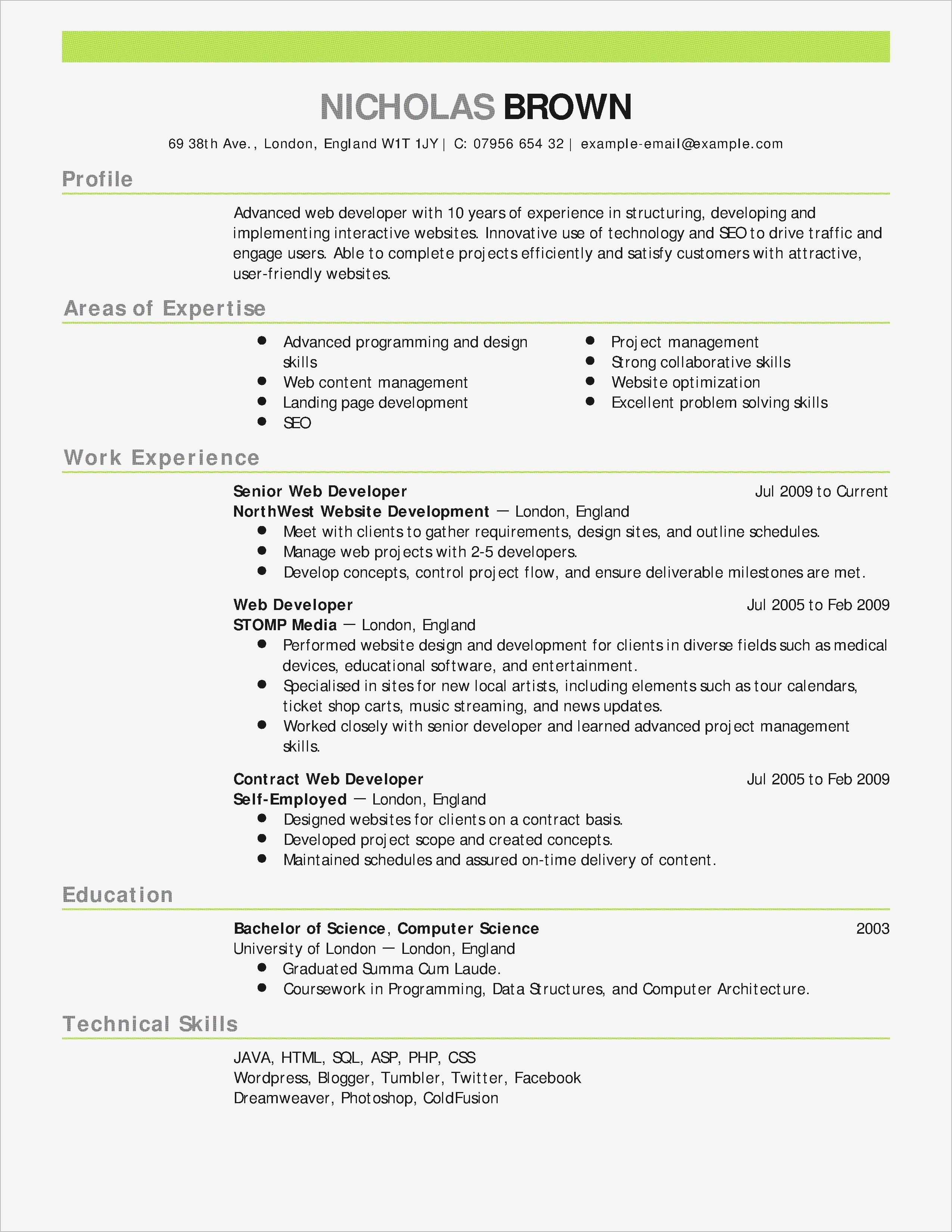 Teacher Resume Template Word - 25 Lovely Teacher Resume Skills