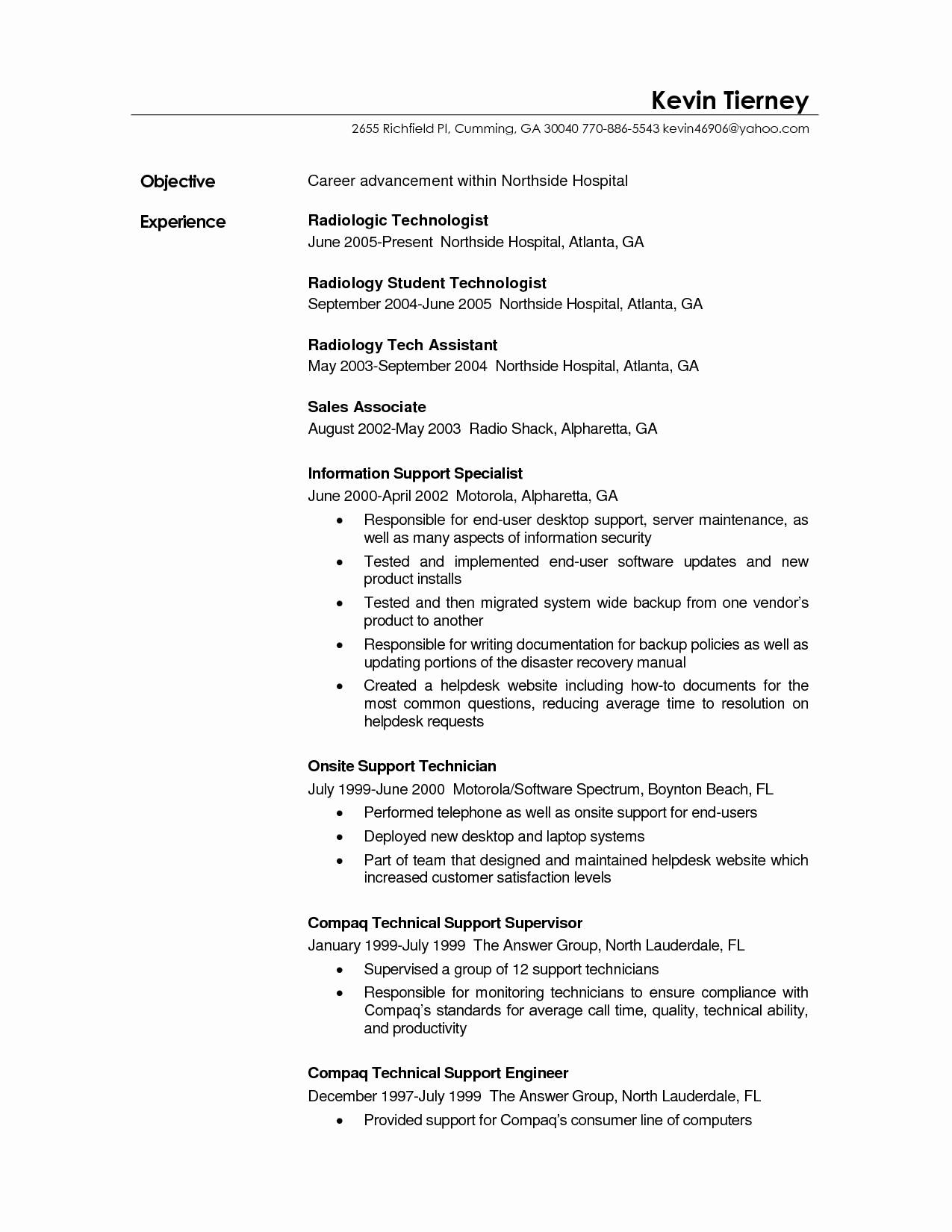 Tech Support Resume Template - 37 Fresh Surgical Tech Resume Sample Resume Templates Ideas 2018
