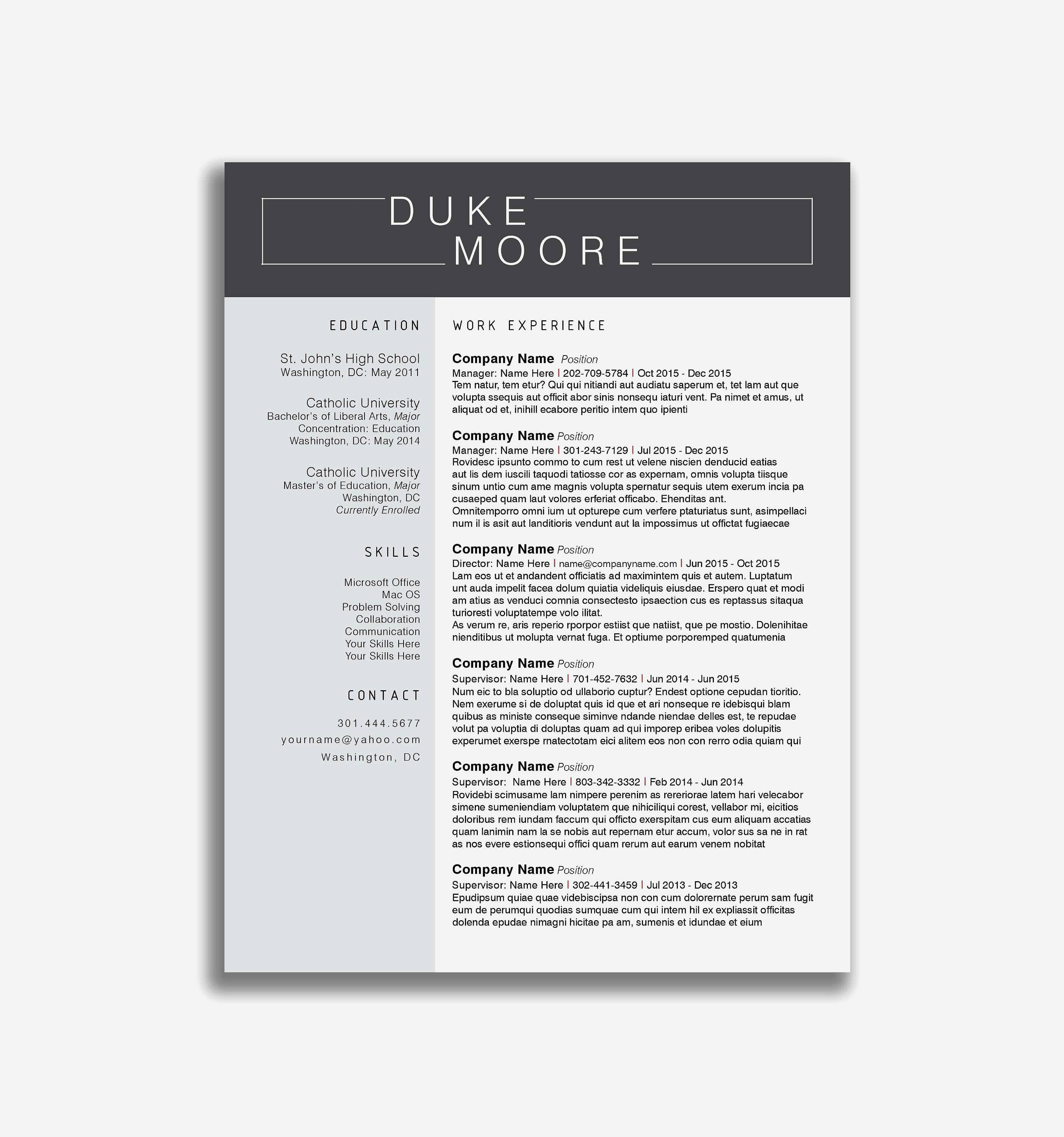 top resume fonts Collection-27 Best Cover Letter Line Resume Templates Resume Templates Concept Motivation ash 6-l