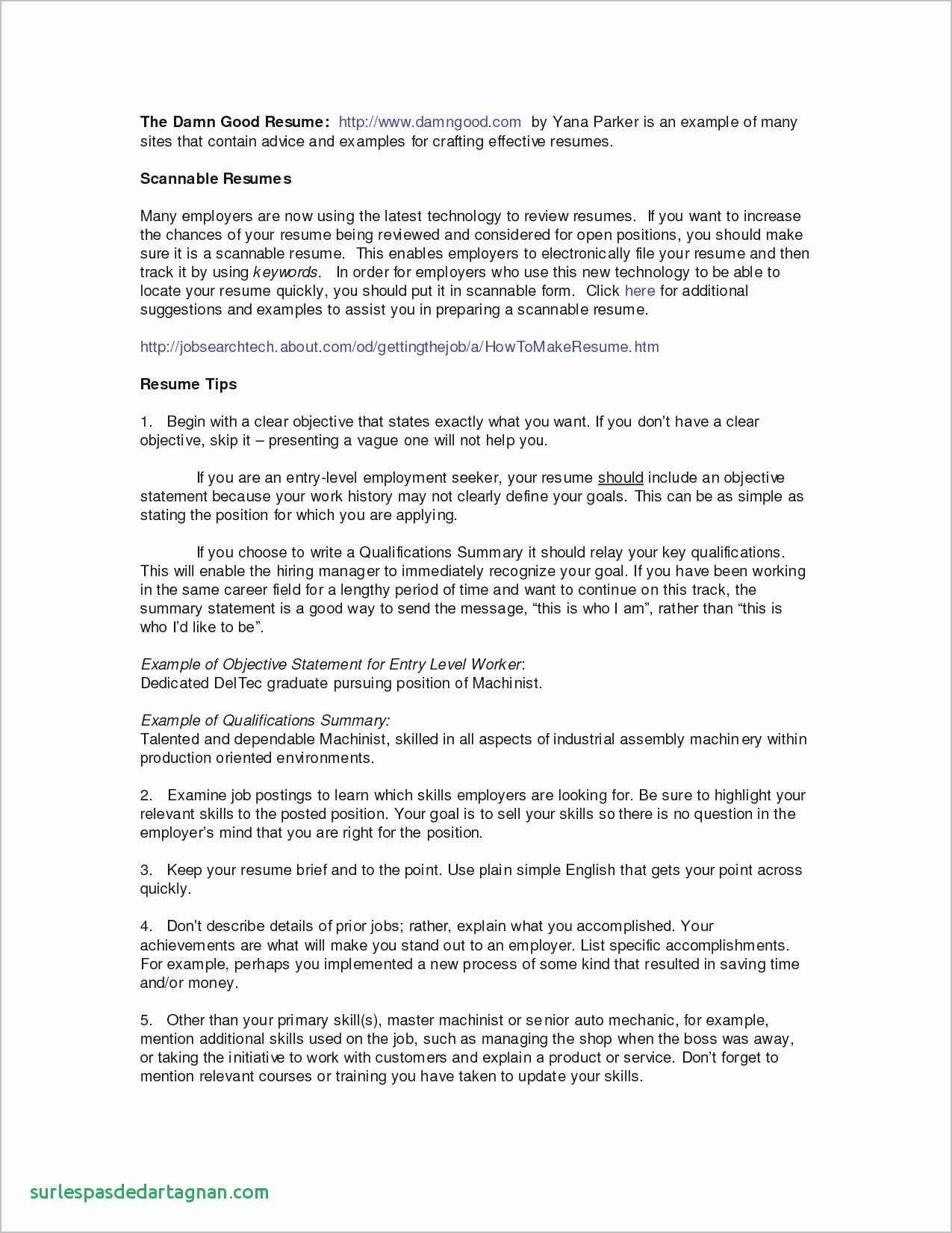 Ub Resume Template - 16 Production Line Worker Resume
