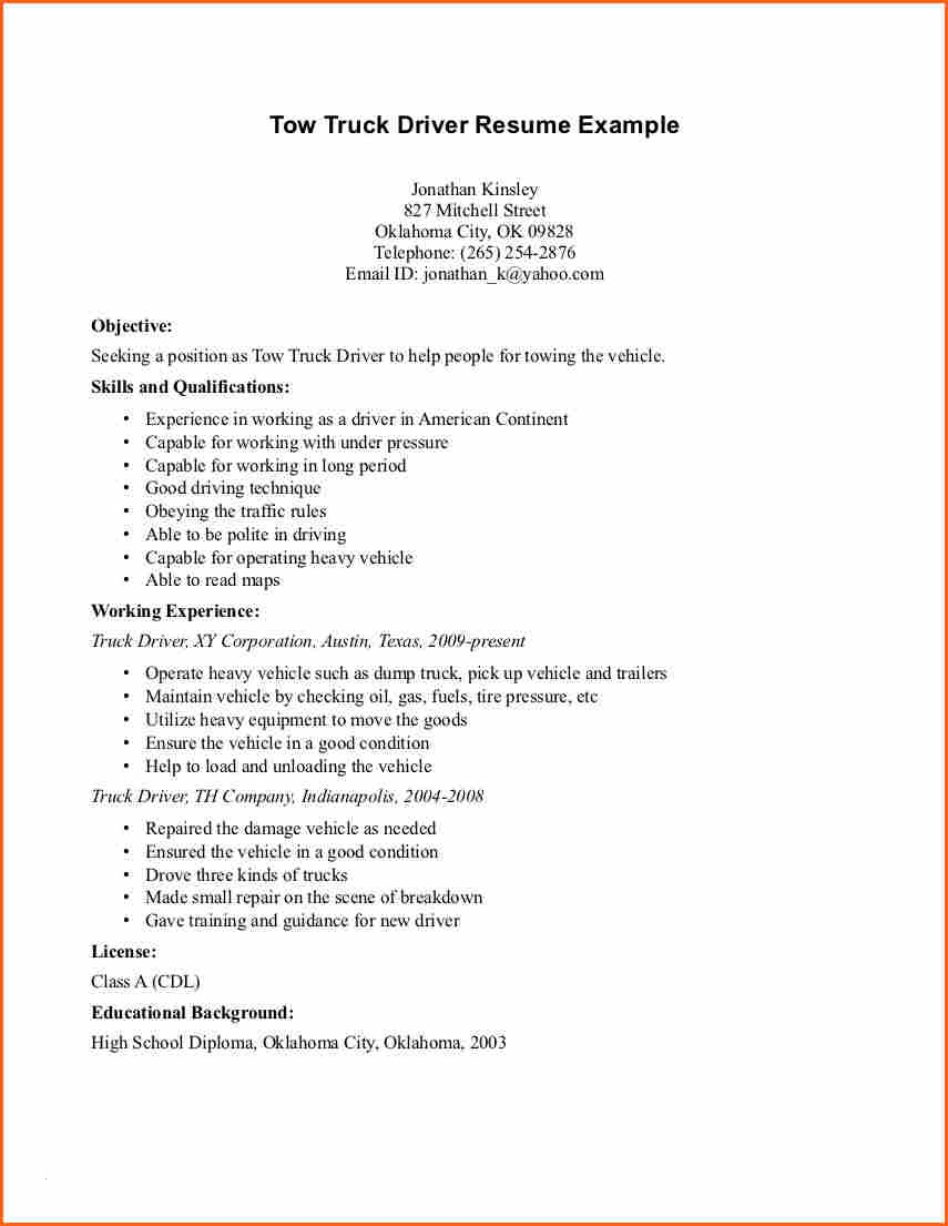 Uber Driver On Resume - Taxi Driver Resume Fresh Enchanting Taxi Cab Driver Resume Sample