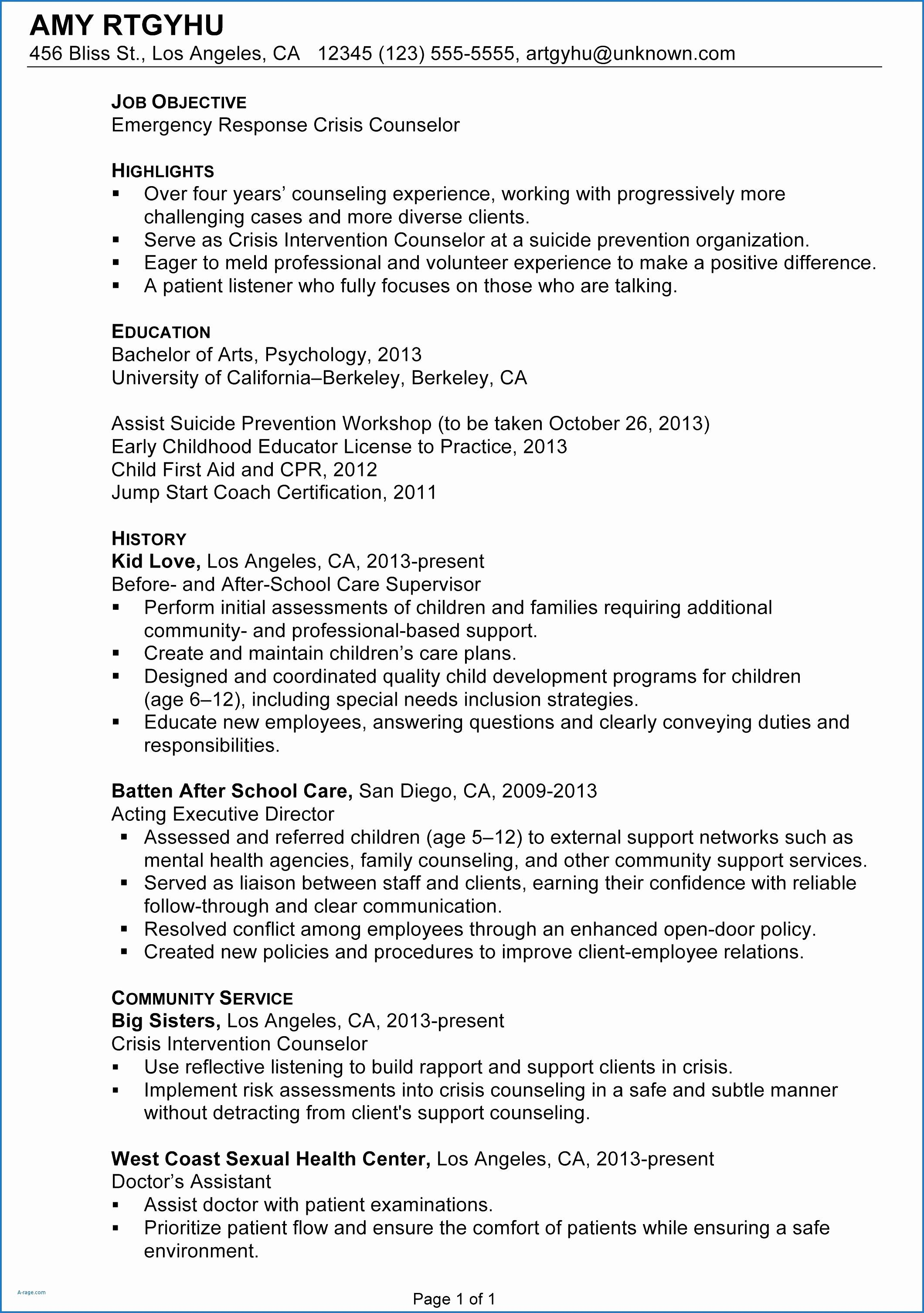Uc Berkeley Resume Template - Resume Skills Section Examples Lovely Sample Architect Resumes Web
