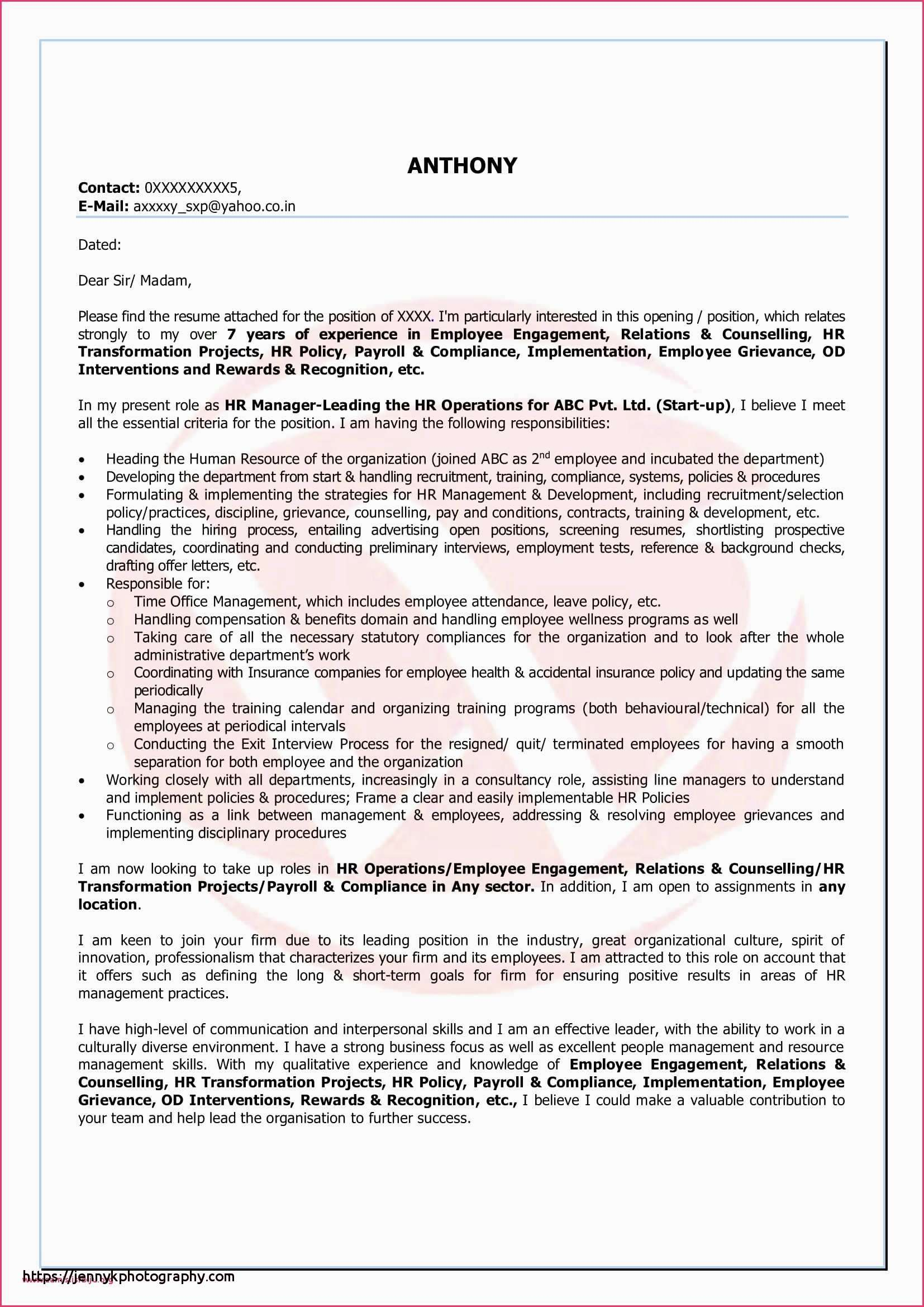 Uf Crc Resume Template - 29 Inspirational Cover Letter for Qa Tester