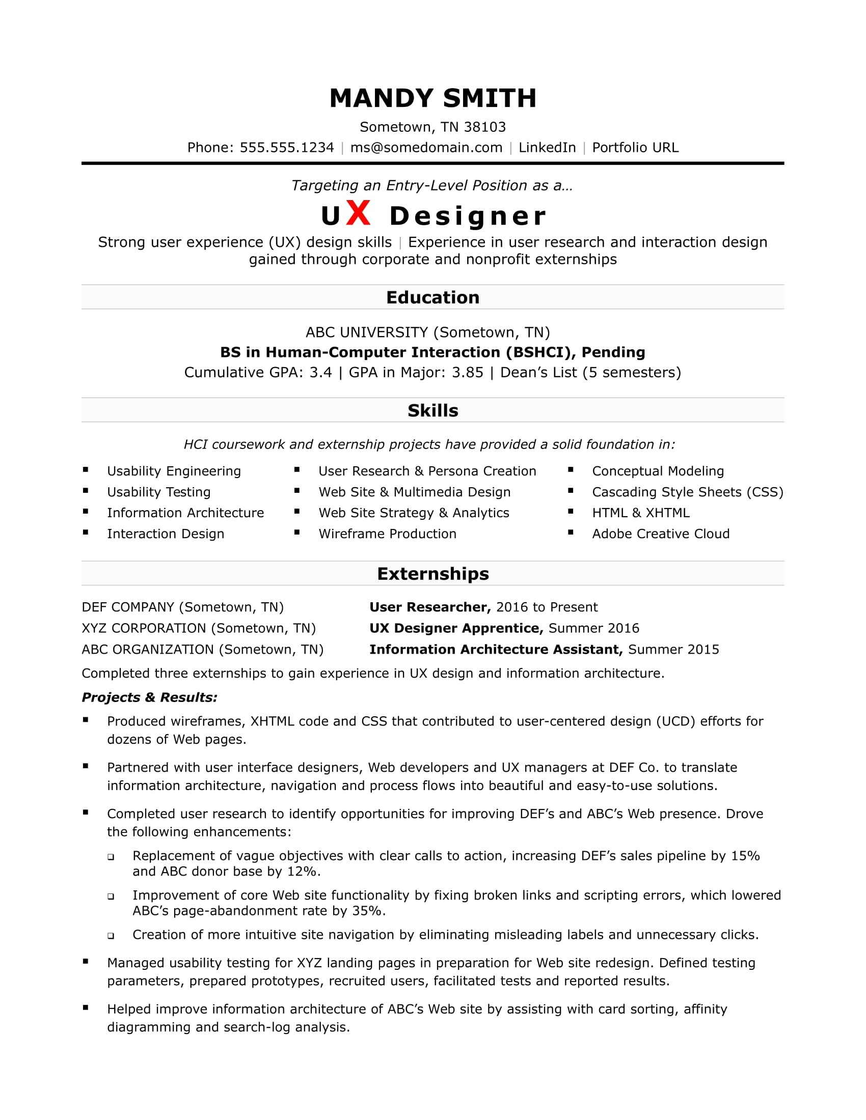 Ui Ux Resume - Web Researcher Refrence areas Expertise Resume Awesome Research