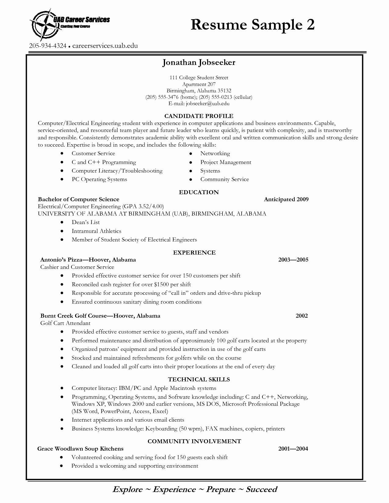 University Of Alabama Resume Template - Business Analyst Resume Samples New Business Analyst Resume