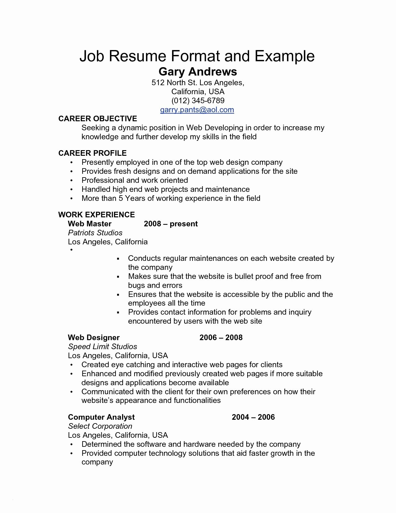 Update My Resume - Interactive Resume Paragraphrewriter