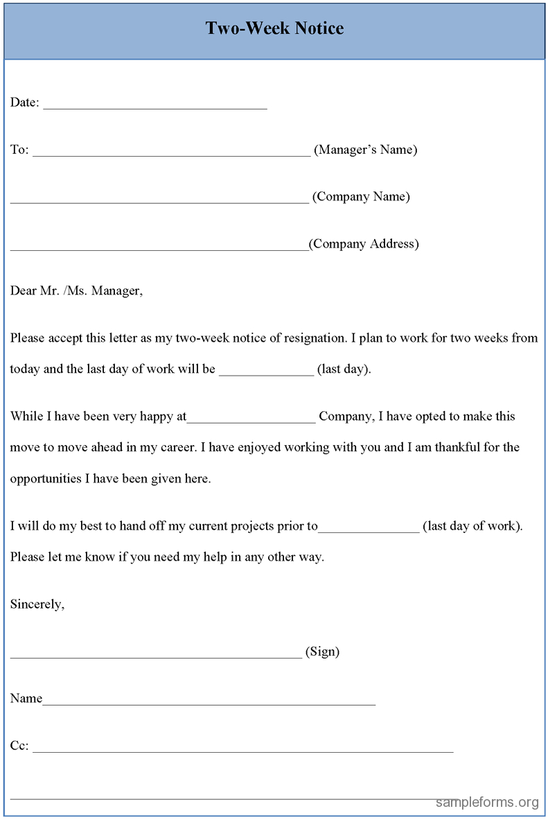 Upwardly Global Resume Template - Resignation Letter Sample 2 Weeks Notice