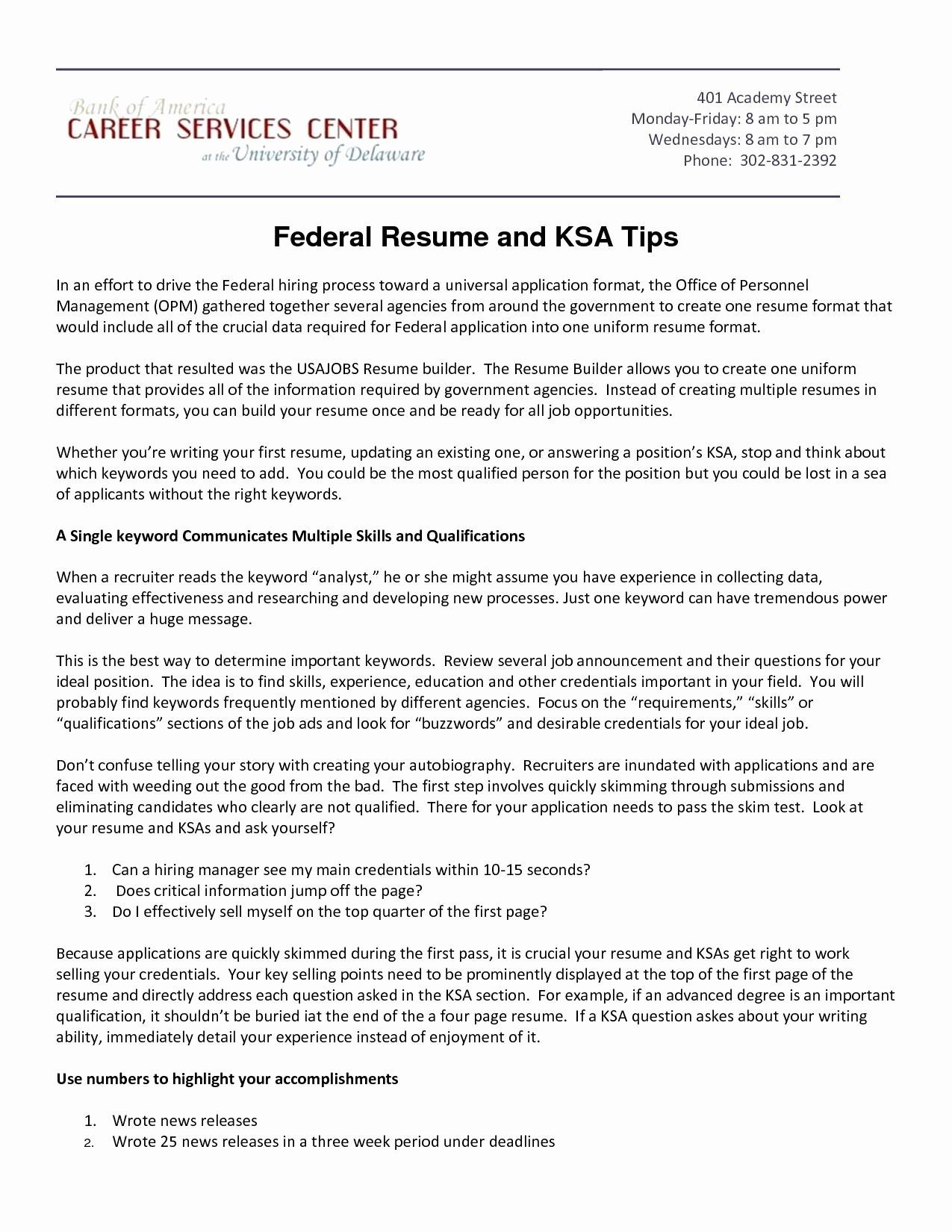 Usajobs Gov Resume Builder - Usajobs Gov Resume Builder
