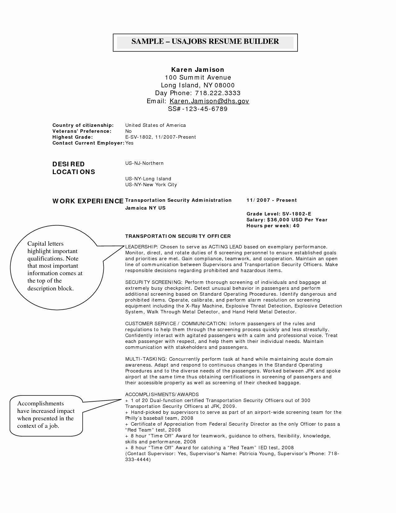 Usajobs Resume Template - Federal Job Resume Samples New Usajobs Resume Sample New Federal
