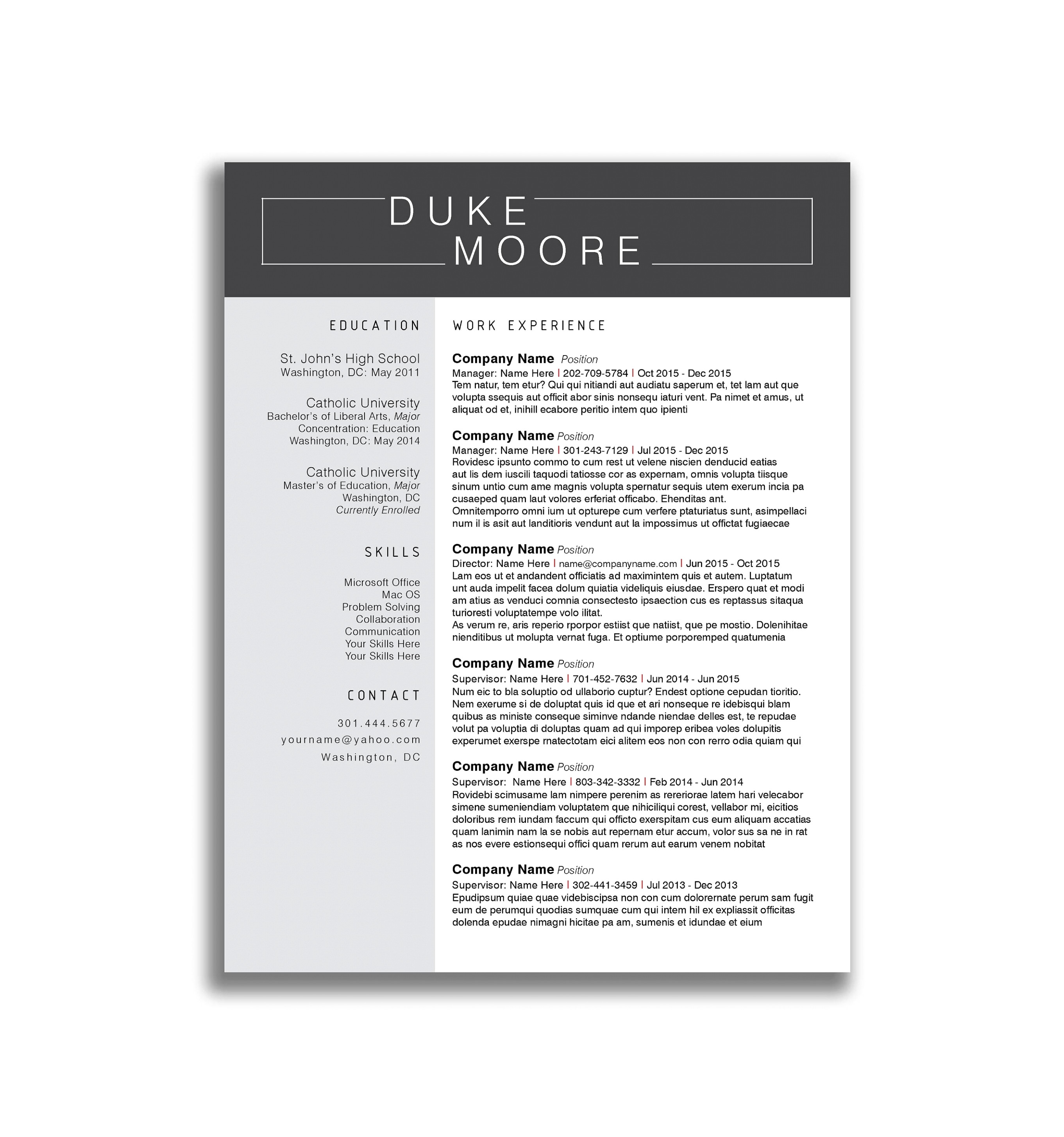Utd Jsom Resume Template - 39 New Resume Paper Staples