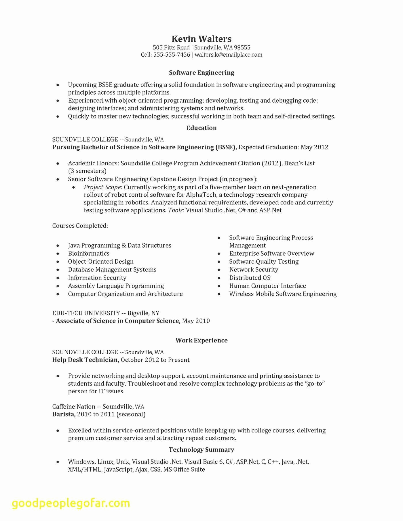 Utd Resume Template - 43 Awesome Engineering Resume Templates Puter Template Puter