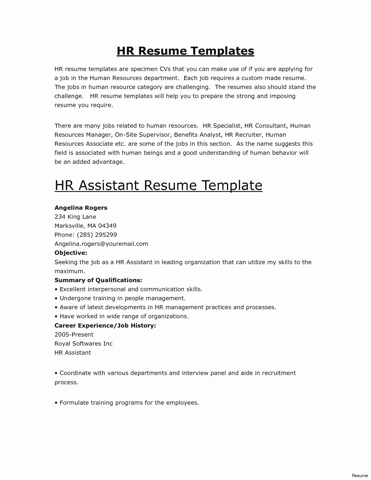 Vet Tech Resume Template - Veterinary Technician Resume Elegant Resume About Me Luxury About Me