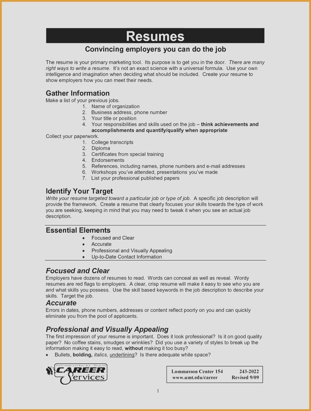 Visually Appealing Resume - Visually Appealing Resume Wp Landingpages