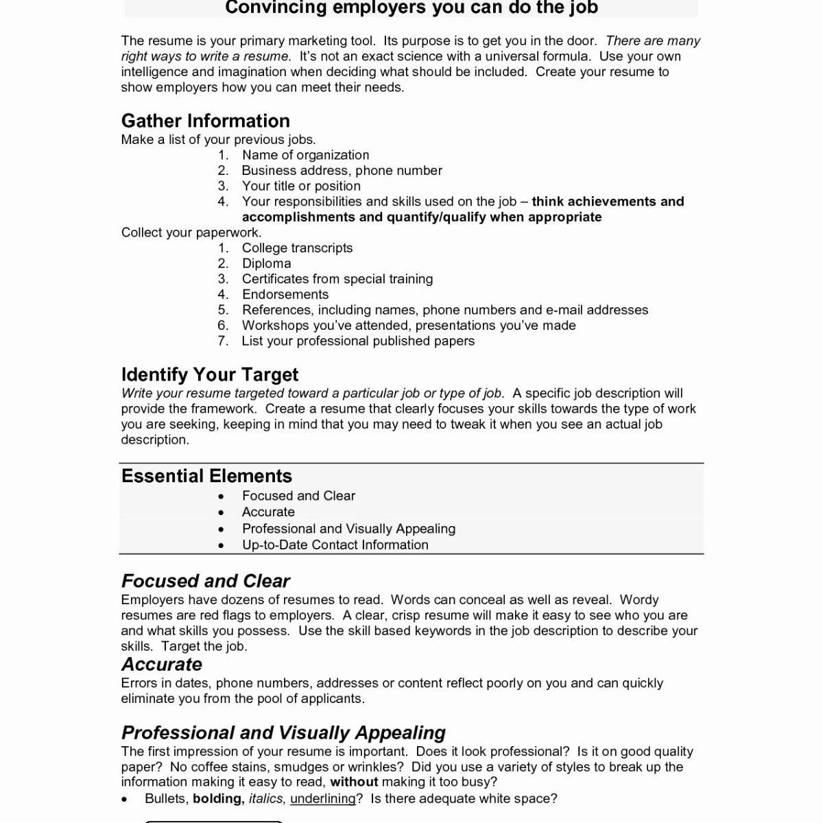 visually appealing resume Collection-How To Type Up A Resume For A Job Unique Best Examples Resumes from Visually Appealing Resume source erbilclub 8-e