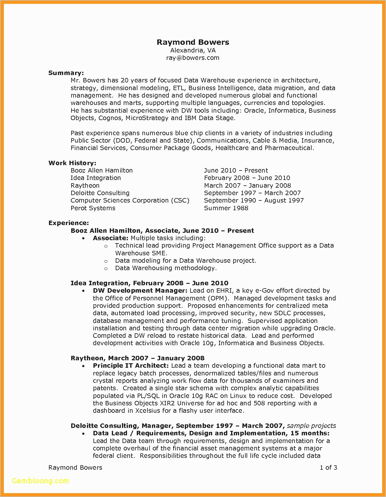 Warehouse Resume Template - Warehouse Cover Letter Awesome Resume for Worker Elegant Template