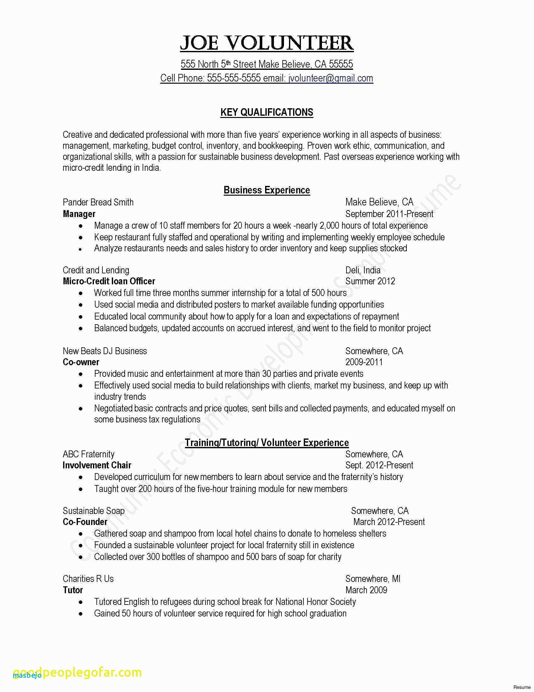 Warehouse Resume Template - Warehouse Resume Examples Resume