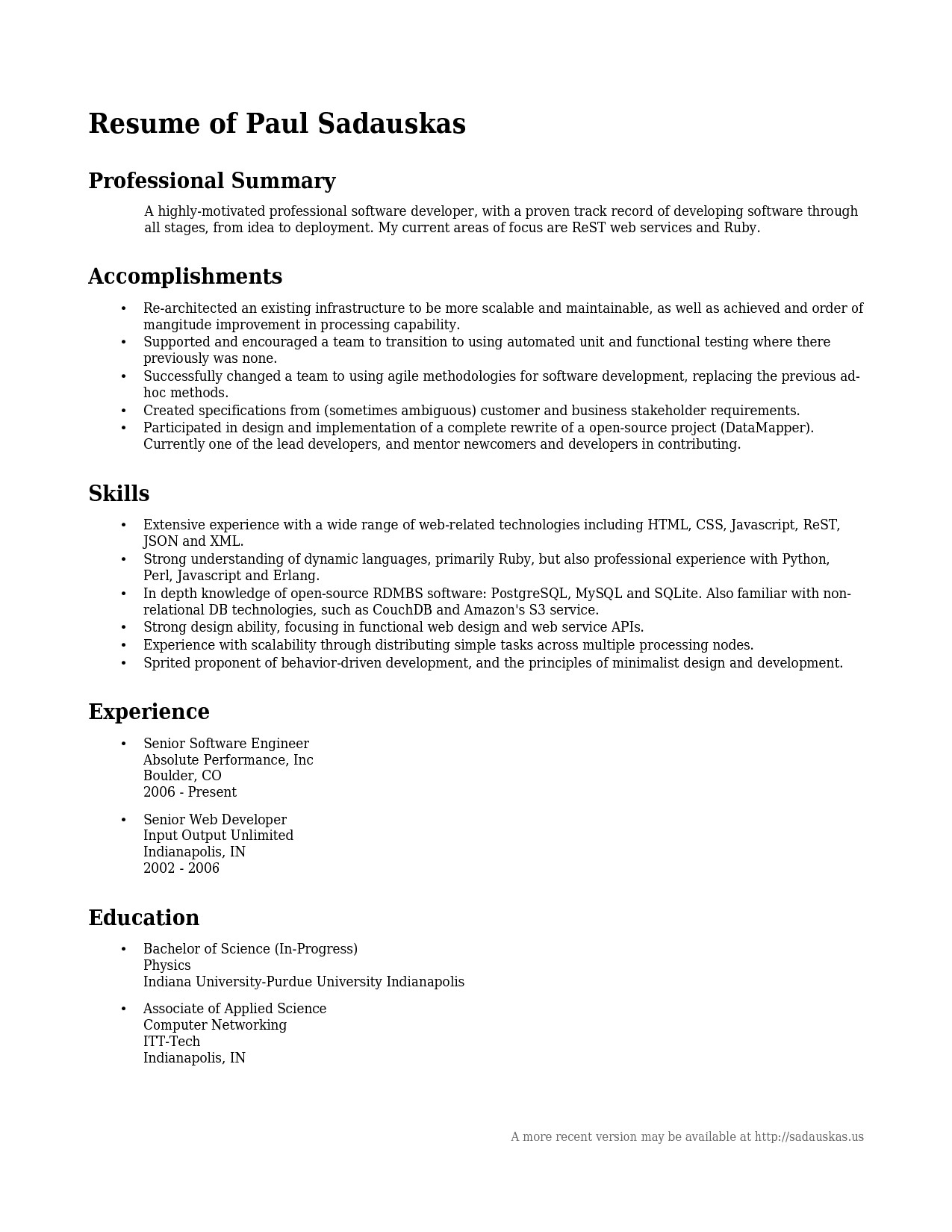 Web Developer Summary Resume - Resume Examples Professional Summary New Example Professional