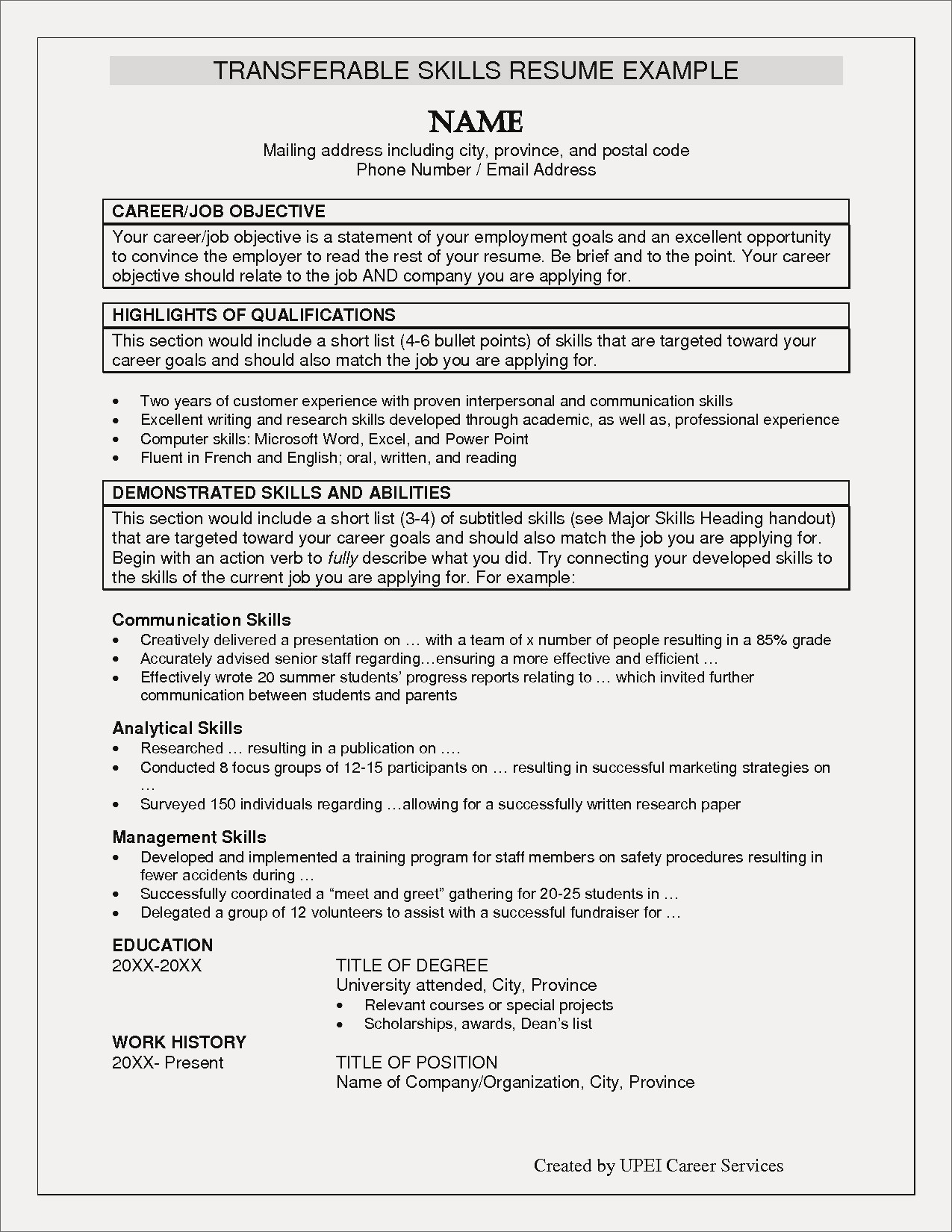 What to Include In Your Resume - Resume Career Objectives Refrence Career Focus Resume New Career