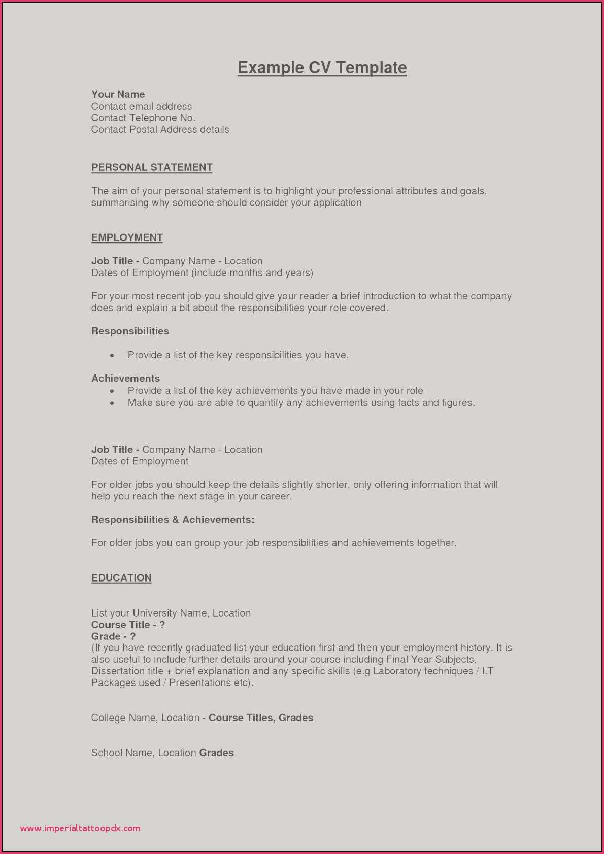 What to Include In Your Resume - Picture A Resume Example Perfect Resume Fresh Examples Resumes
