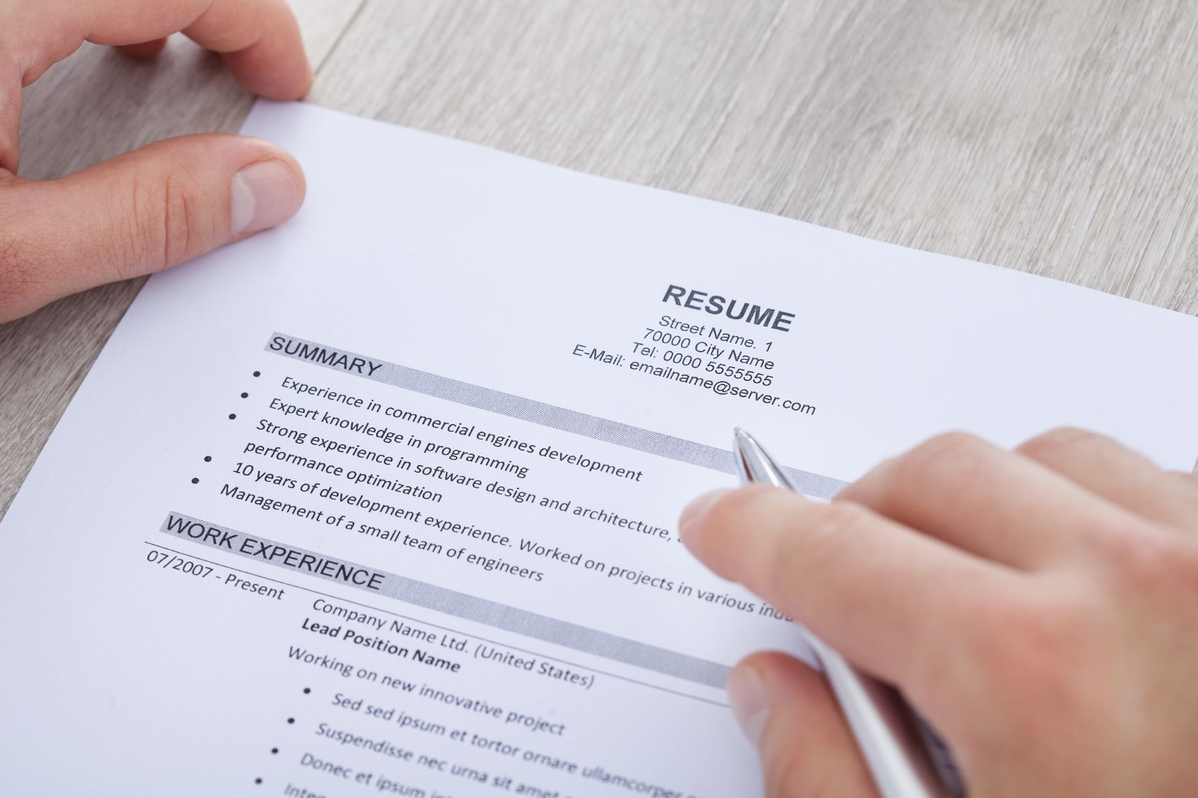 Whats A Good Wpm for A Resume - How to Write A Resume Summary Statement with Examples