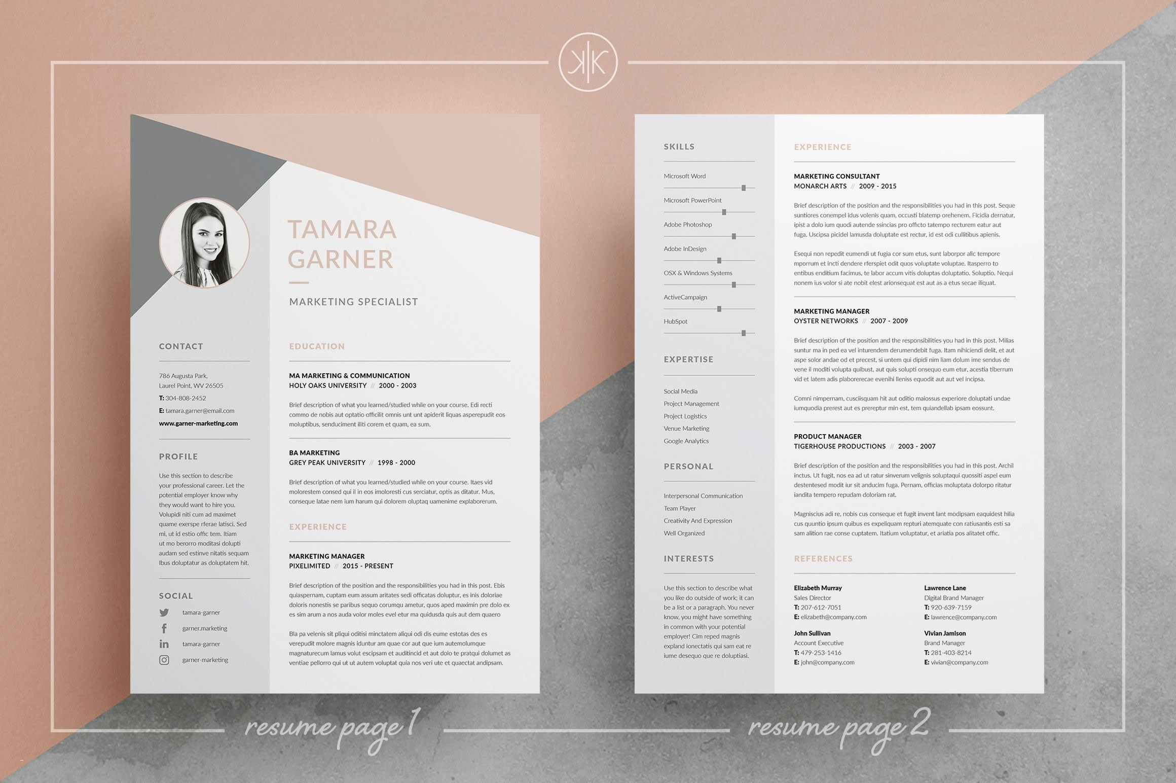 Word Resume Templates - Free Resume Templates for Microsoft Word Beautiful Awesome Examples