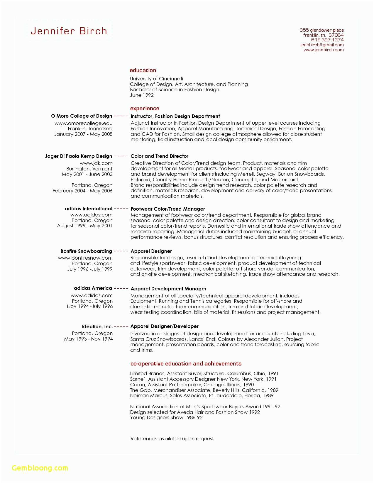 Words for Resumes - √ Sample From Word Resume Template source Netforcepress 0d E3159fe