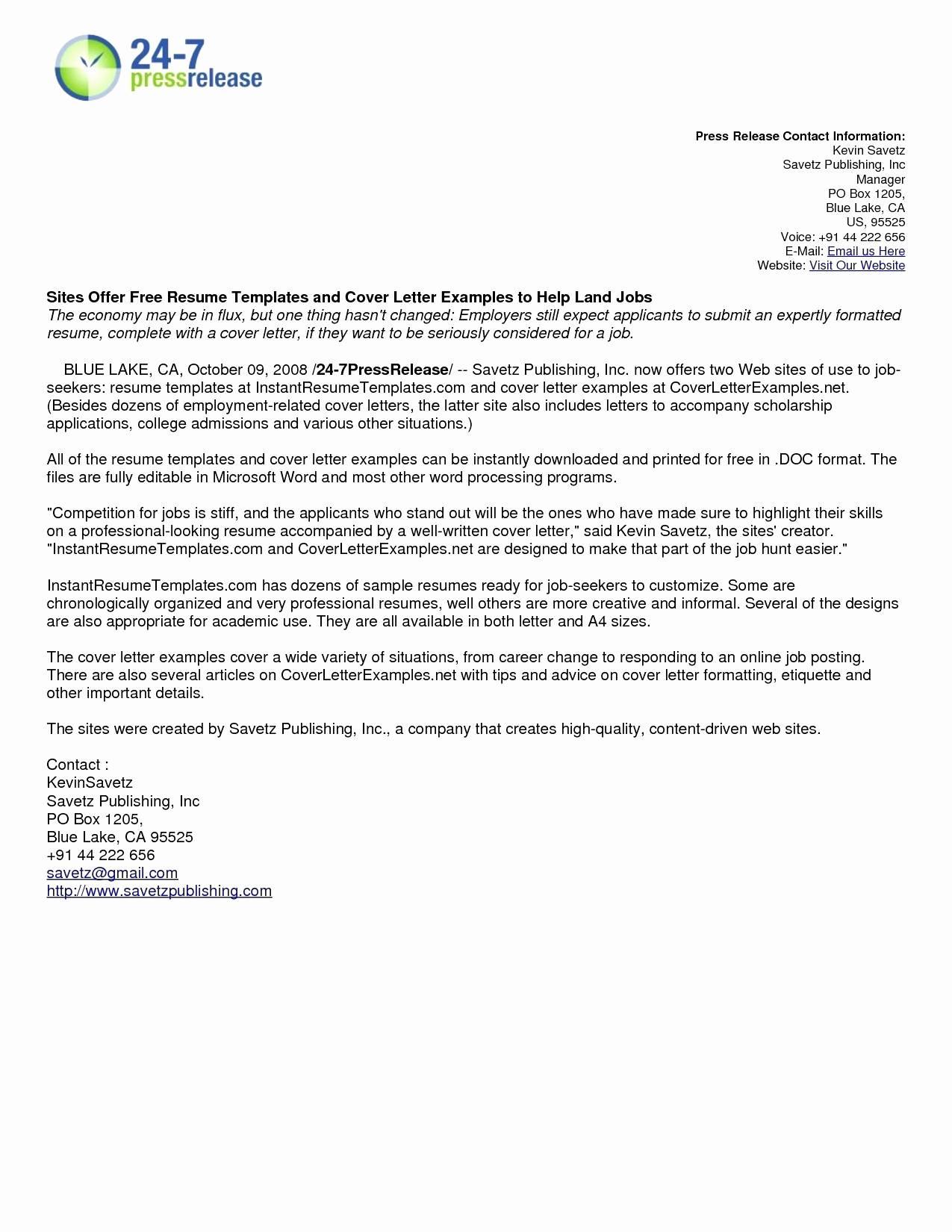 Writing A Cover Letter for A Resume - Stand Out Cover Letter Template Gallery